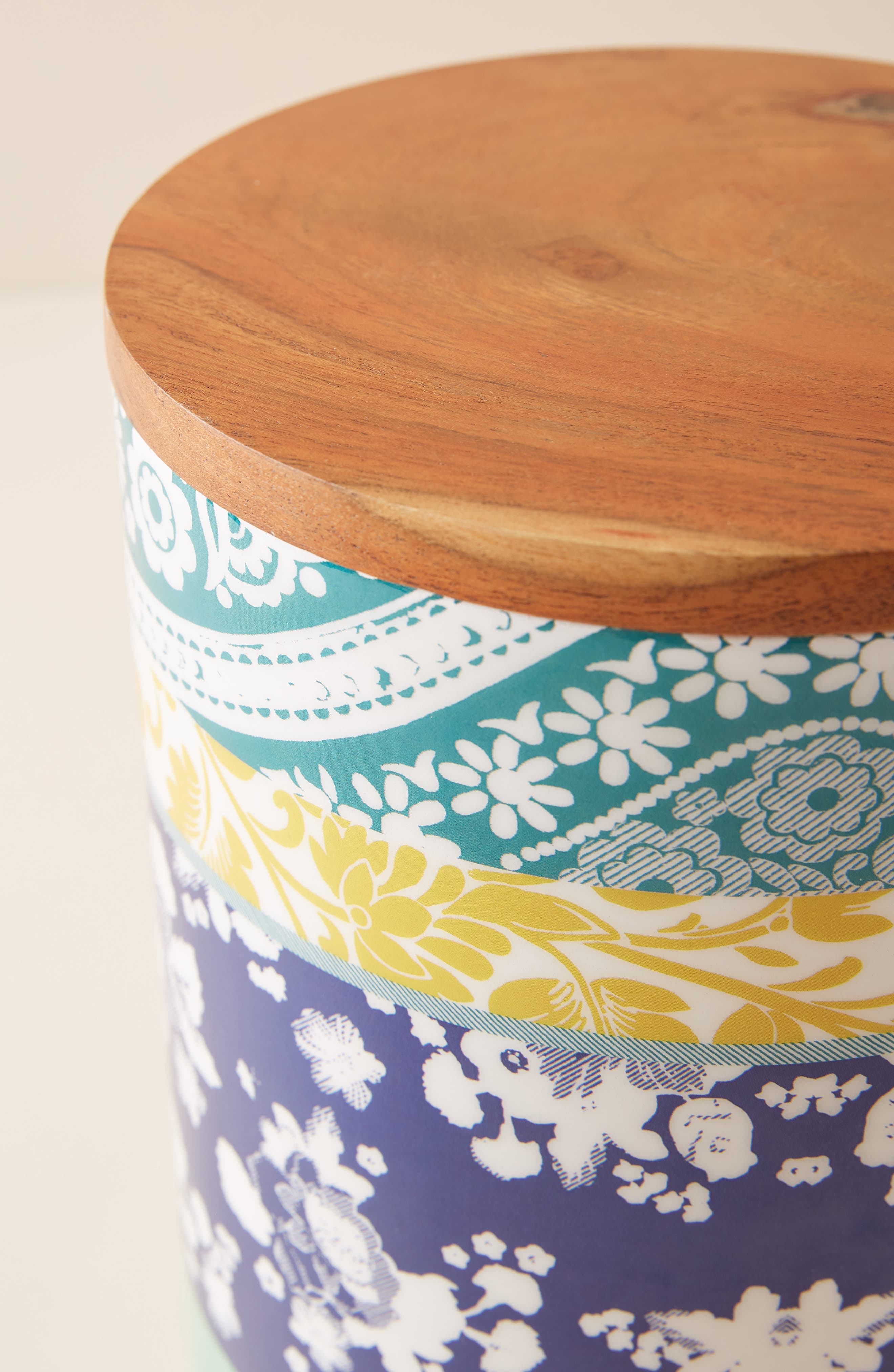 ANTHROPOLOGIE,                             Jacquard Canister,                             Alternate thumbnail 2, color,                             PURPLE
