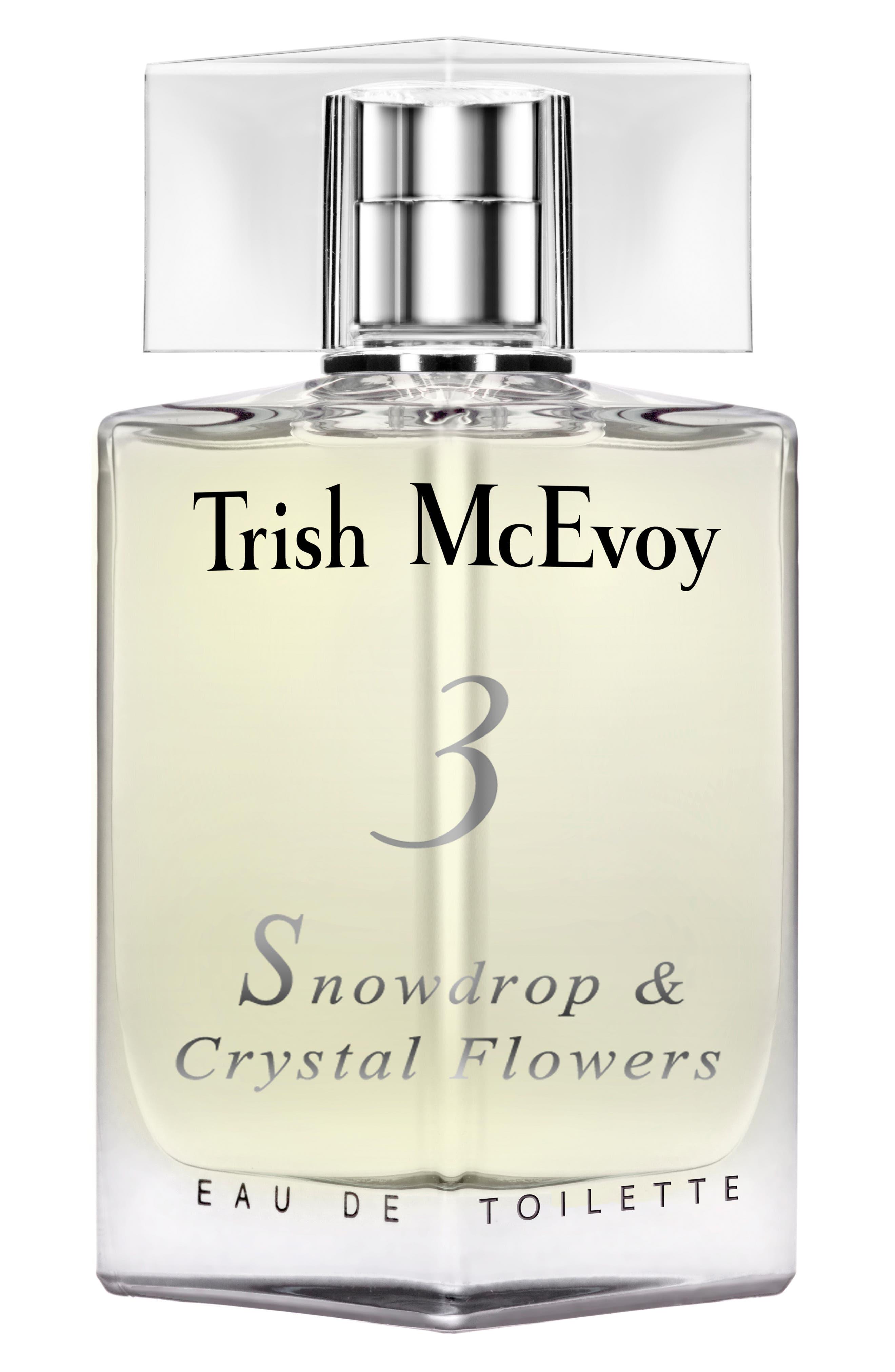 'No. 3 Snowdrop & Crystal Flowers' Eau de Toilette, Main, color, NO COLOR