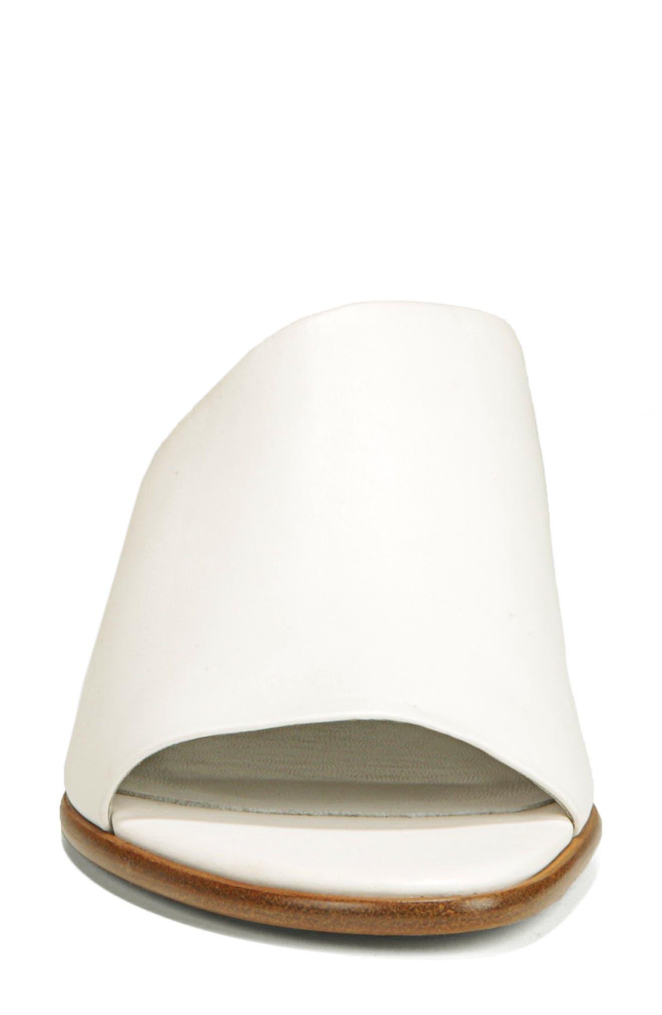 VINCE,                             Duvall Asymmetrical Wedge Sandal,                             Alternate thumbnail 4, color,                             OFF WHITE