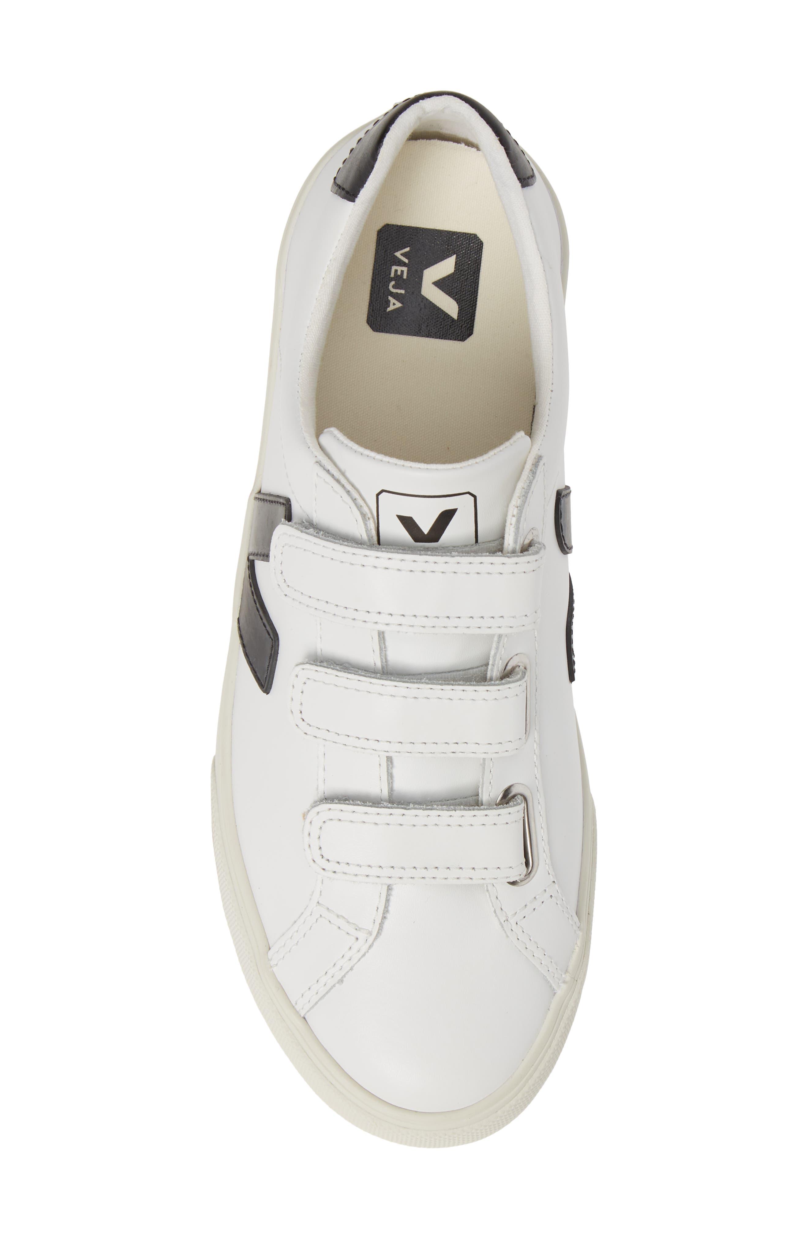Espalar 3-Lock Sneaker,                             Alternate thumbnail 5, color,                             EXTRA WHITE BLACK