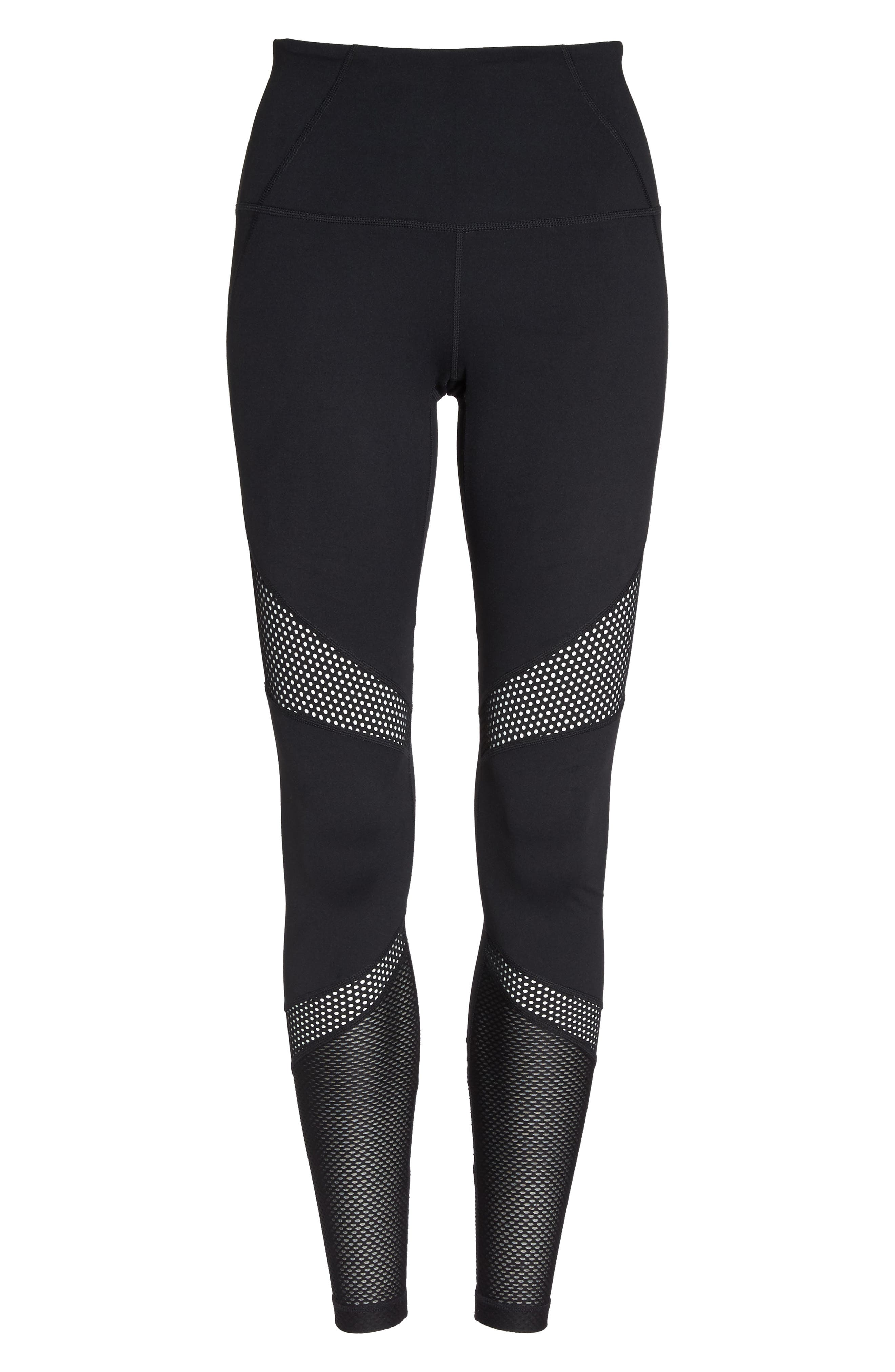 Out of Bounds High Waist Leggings,                             Alternate thumbnail 7, color,                             001