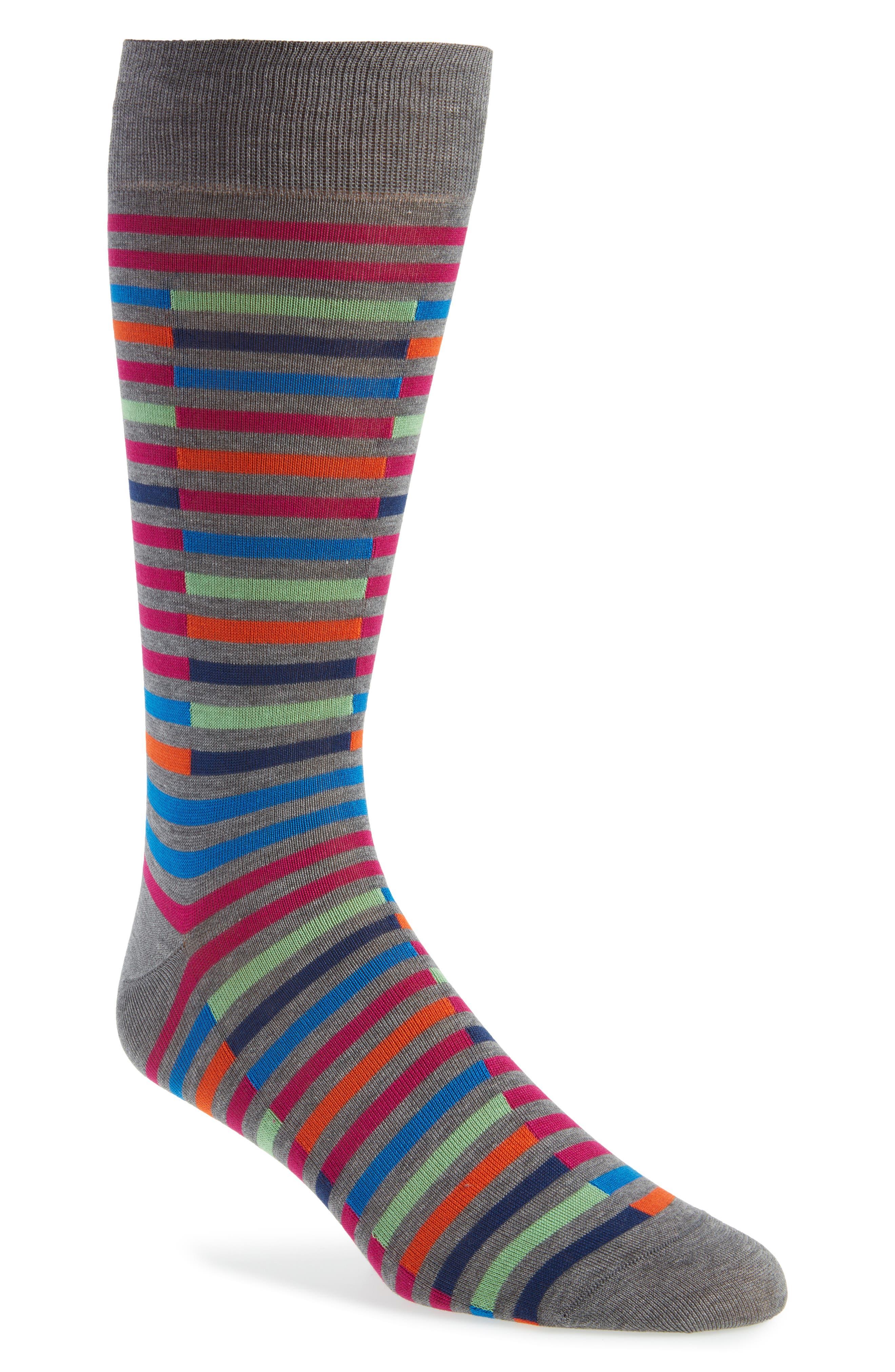 Broken Stripe Socks,                             Main thumbnail 1, color,                             031