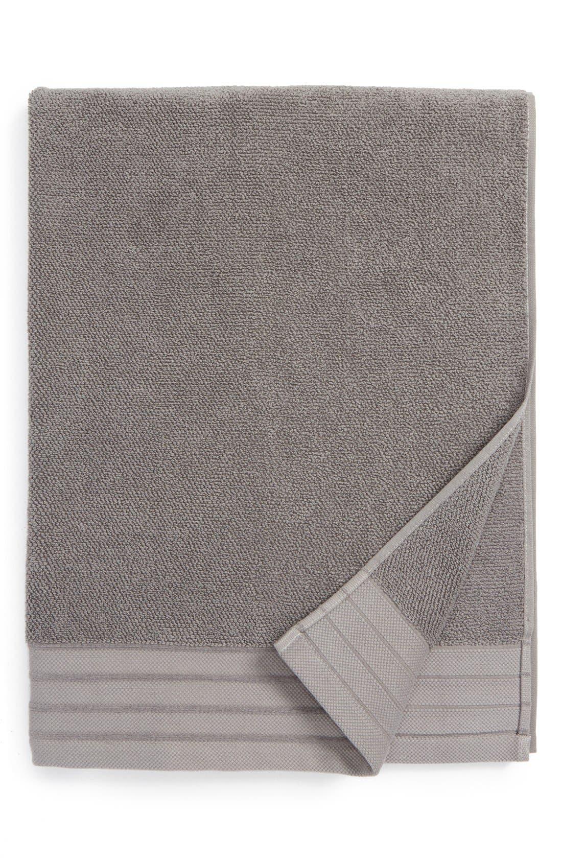 Classic Luxe Bath Towel,                             Main thumbnail 1, color,                             GRANITE