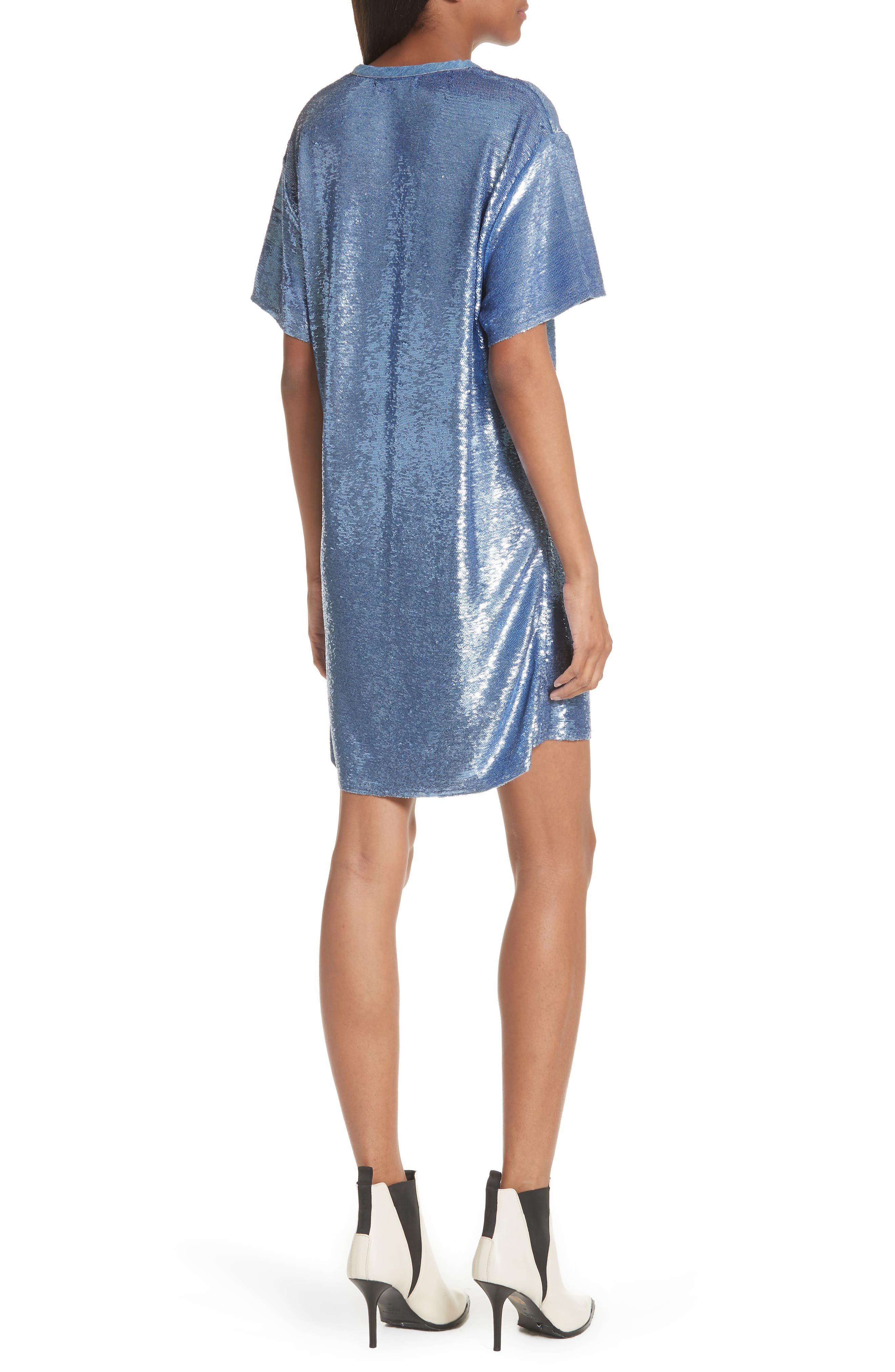 Nabara Sequin Dress,                             Alternate thumbnail 2, color,                             454