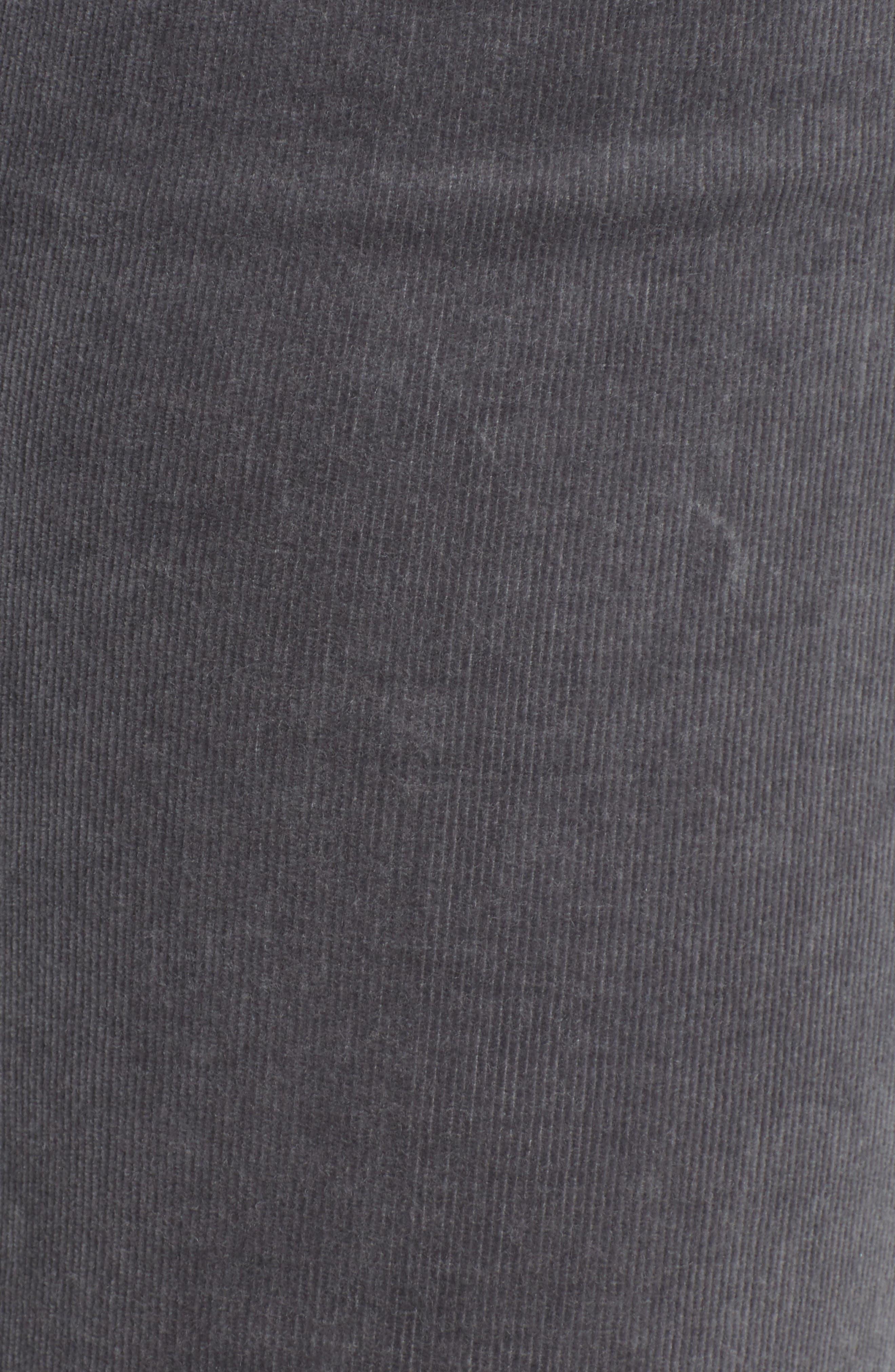 'Diana' Stretch Corduroy Skinny Pants,                             Alternate thumbnail 209, color,