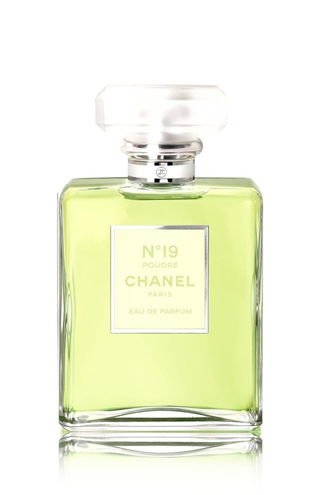 N°19 POUDRÉ<br />Eau de Parfum Spray,                             Main thumbnail 1, color,                             NO COLOR