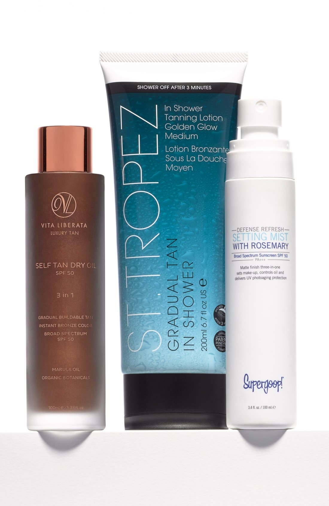 Supergoop! Defense Refresh Setting Mist with Rosemary SPF 50,                             Alternate thumbnail 5, color,                             NO COLOR