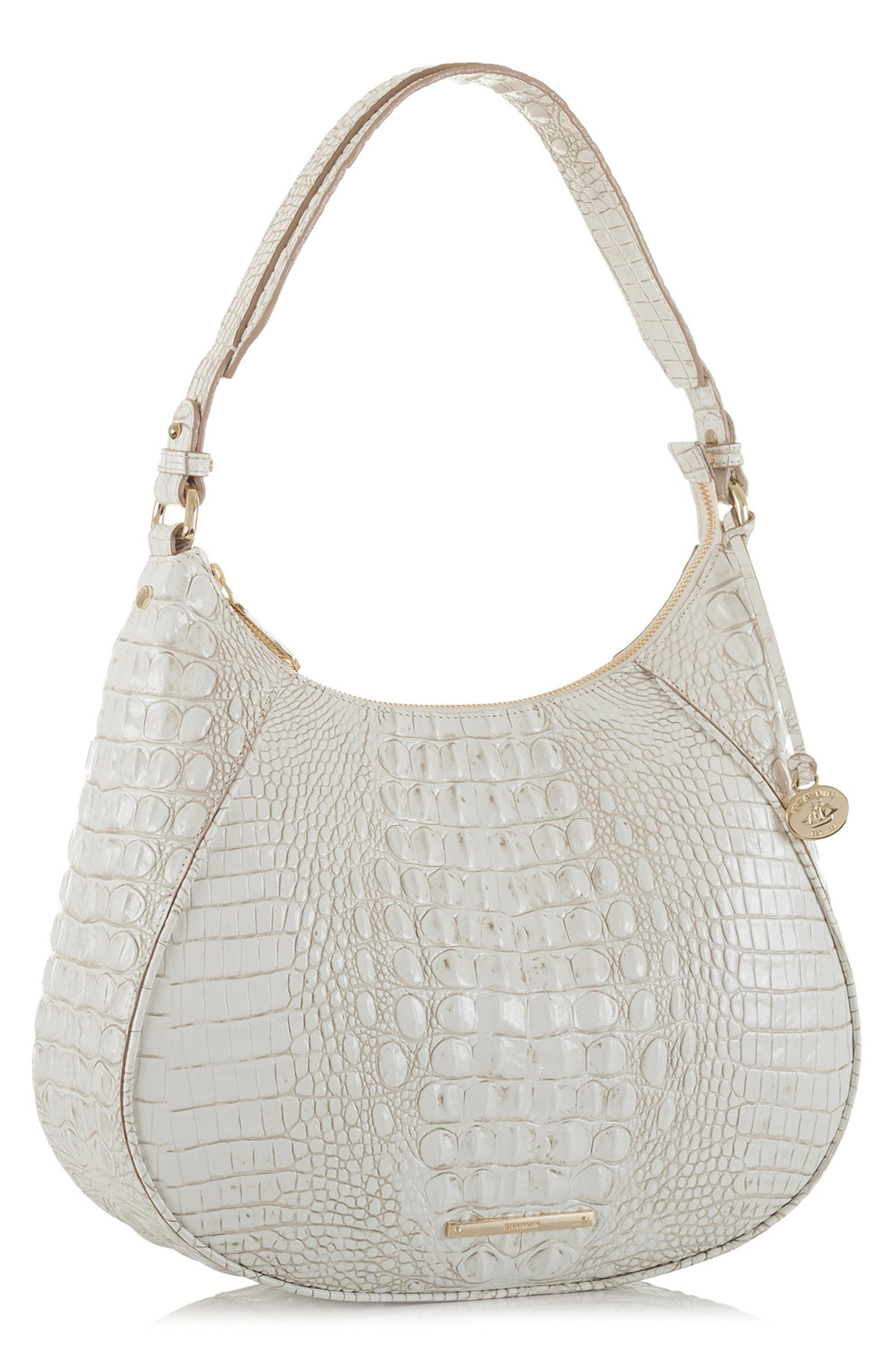 BRAHMIN,                             Melbourne Amira Shoulder Bag,                             Alternate thumbnail 4, color,                             100