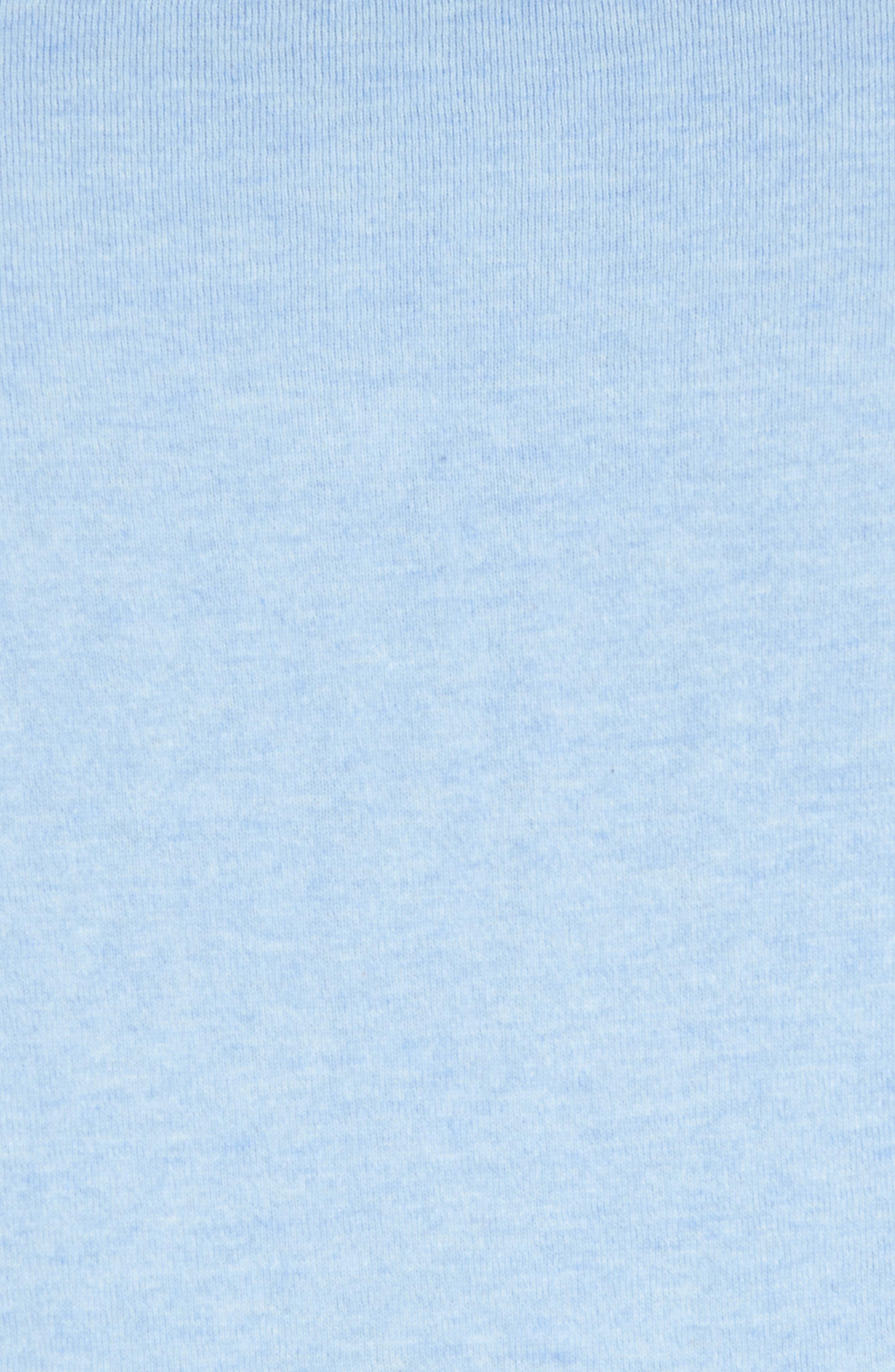 Cotton & Silk Quarter Zip Pullover,                             Alternate thumbnail 5, color,                             454