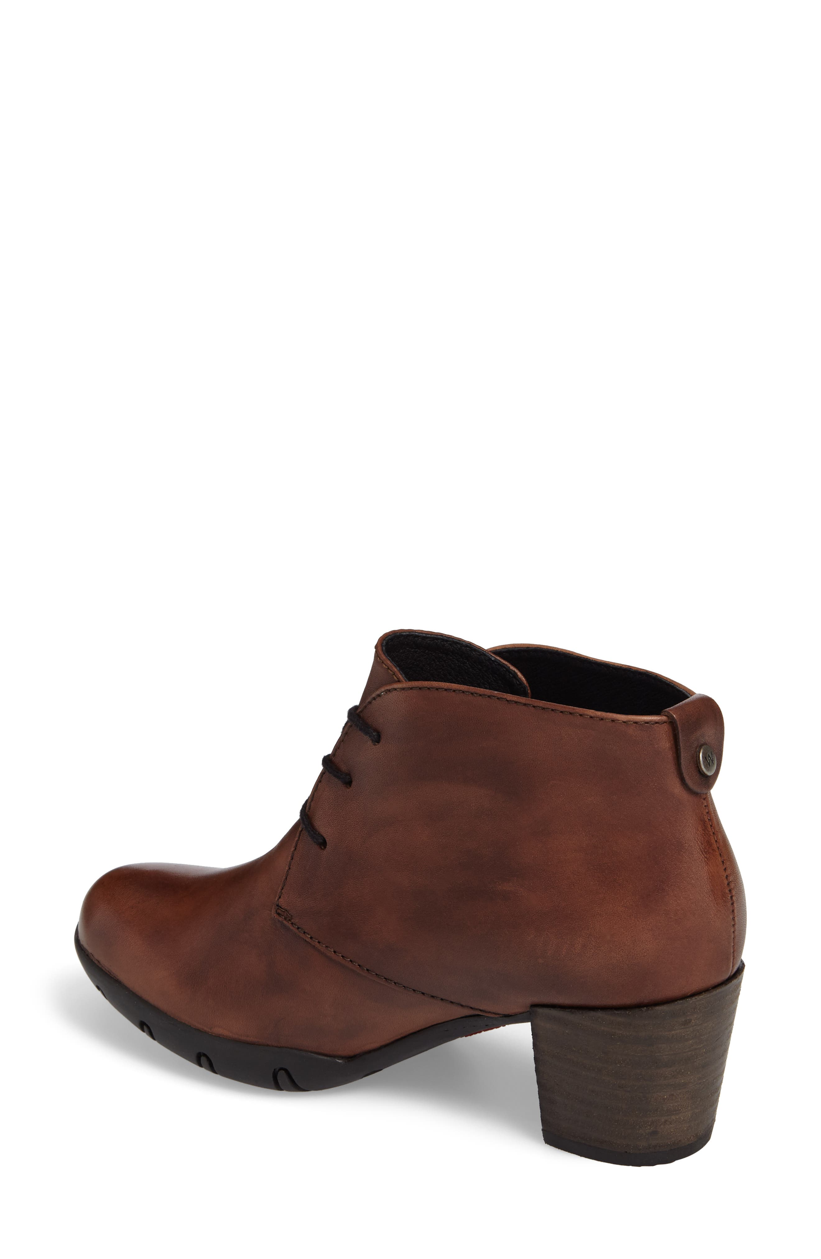 Bighorn Bootie,                             Alternate thumbnail 2, color,                             COGNAC LEATHER