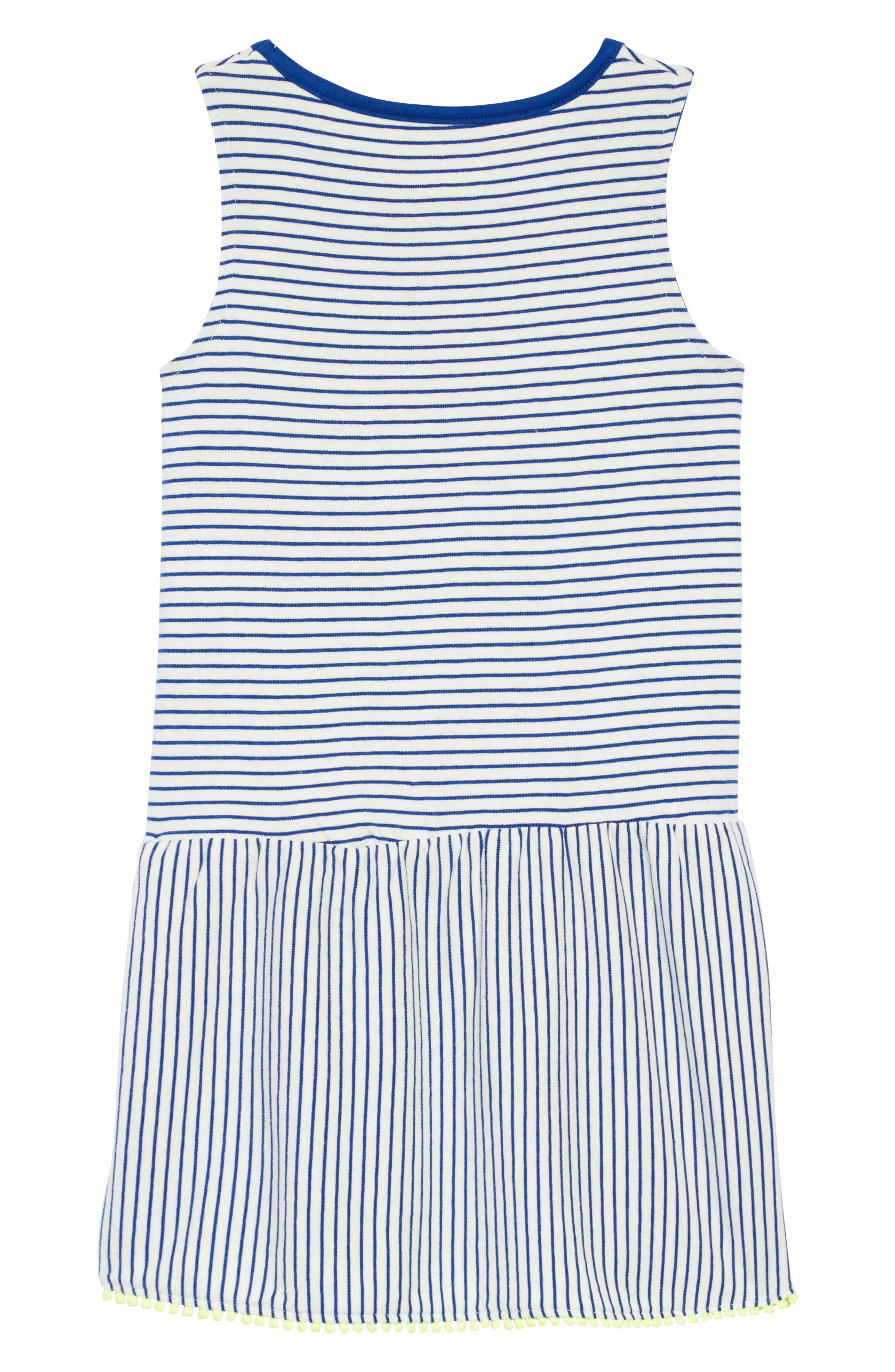 Drop-Waist Jersey Dress,                             Alternate thumbnail 2, color,