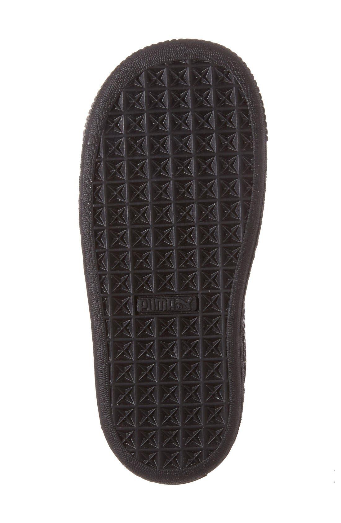 'Basket Classic' Shoe,                             Alternate thumbnail 4, color,                             001