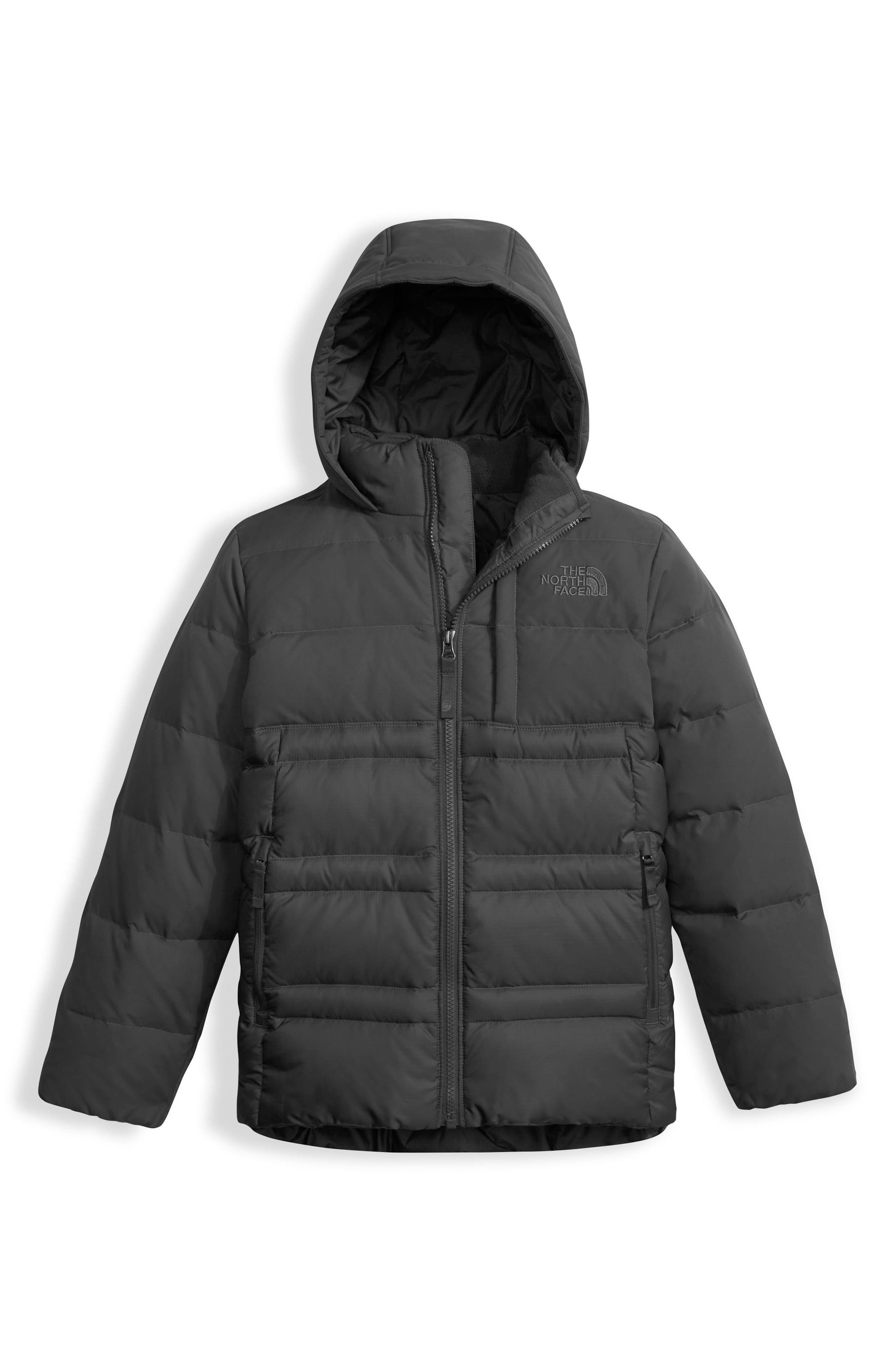 Franklin Water Resistant 550-Fill Down Jacket,                             Main thumbnail 1, color,                             001