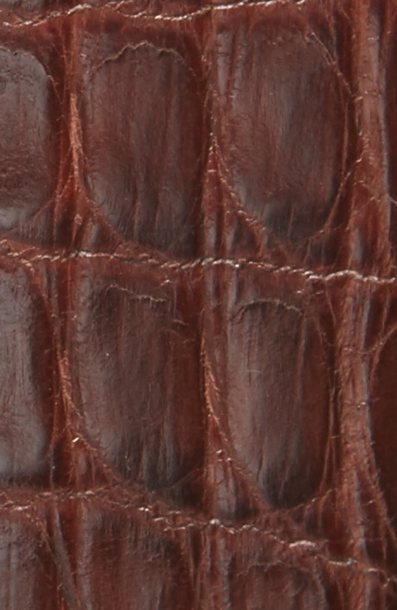 Crocodile Leather Belt,                             Alternate thumbnail 2, color,                             210