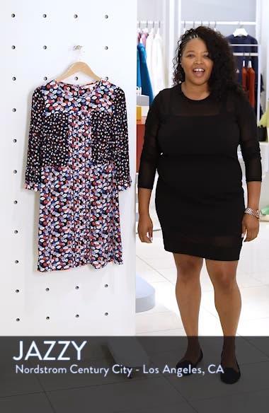 Hotchpotch Pattern Mix Pintuck Dress, sales video thumbnail
