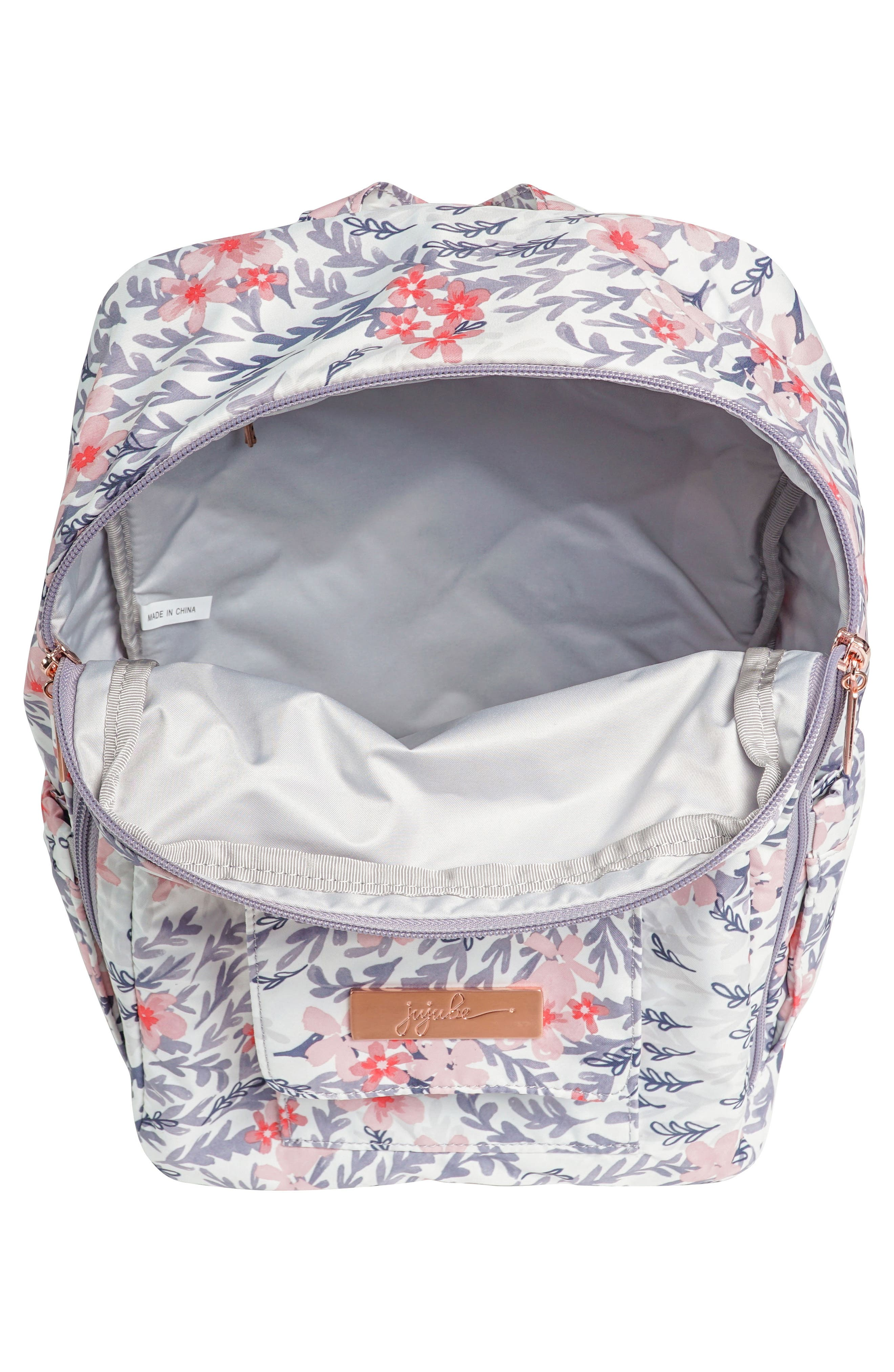 MiniBe Rose Backpack,                             Alternate thumbnail 8, color,
