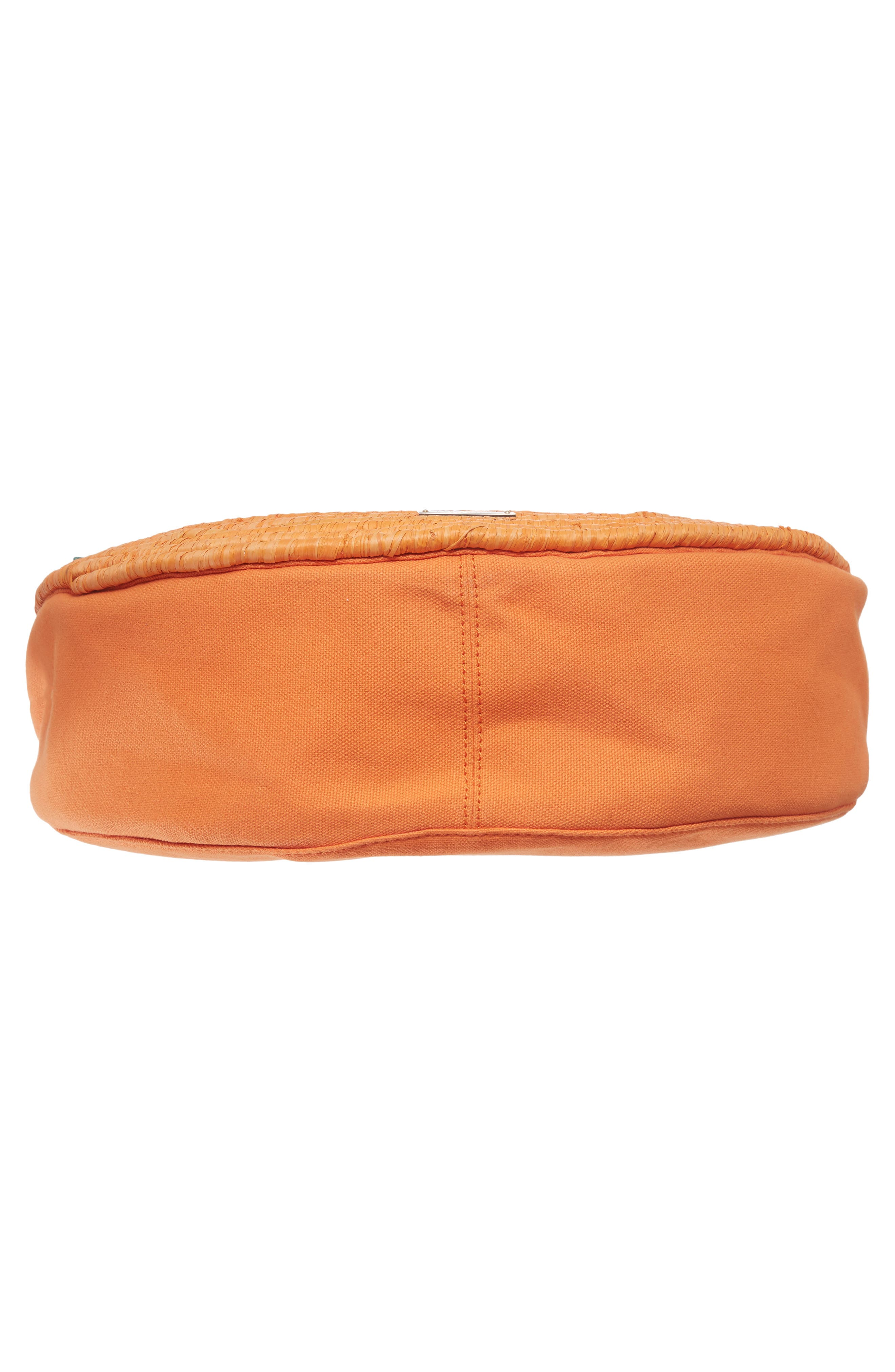 spice things up orange tote,                             Alternate thumbnail 6, color,                             800