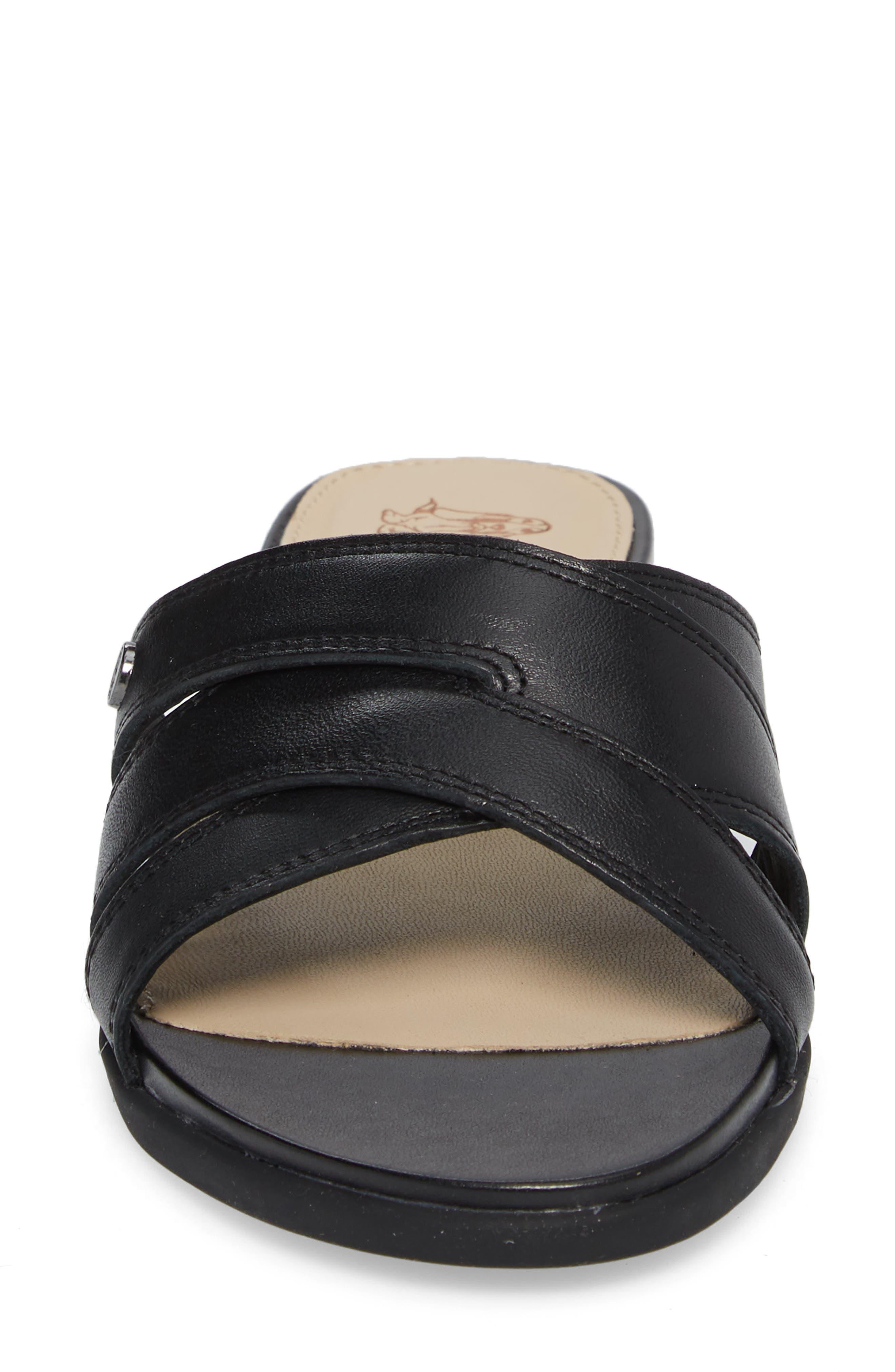 Dalmatian Slide Sandal,                             Alternate thumbnail 4, color,                             007