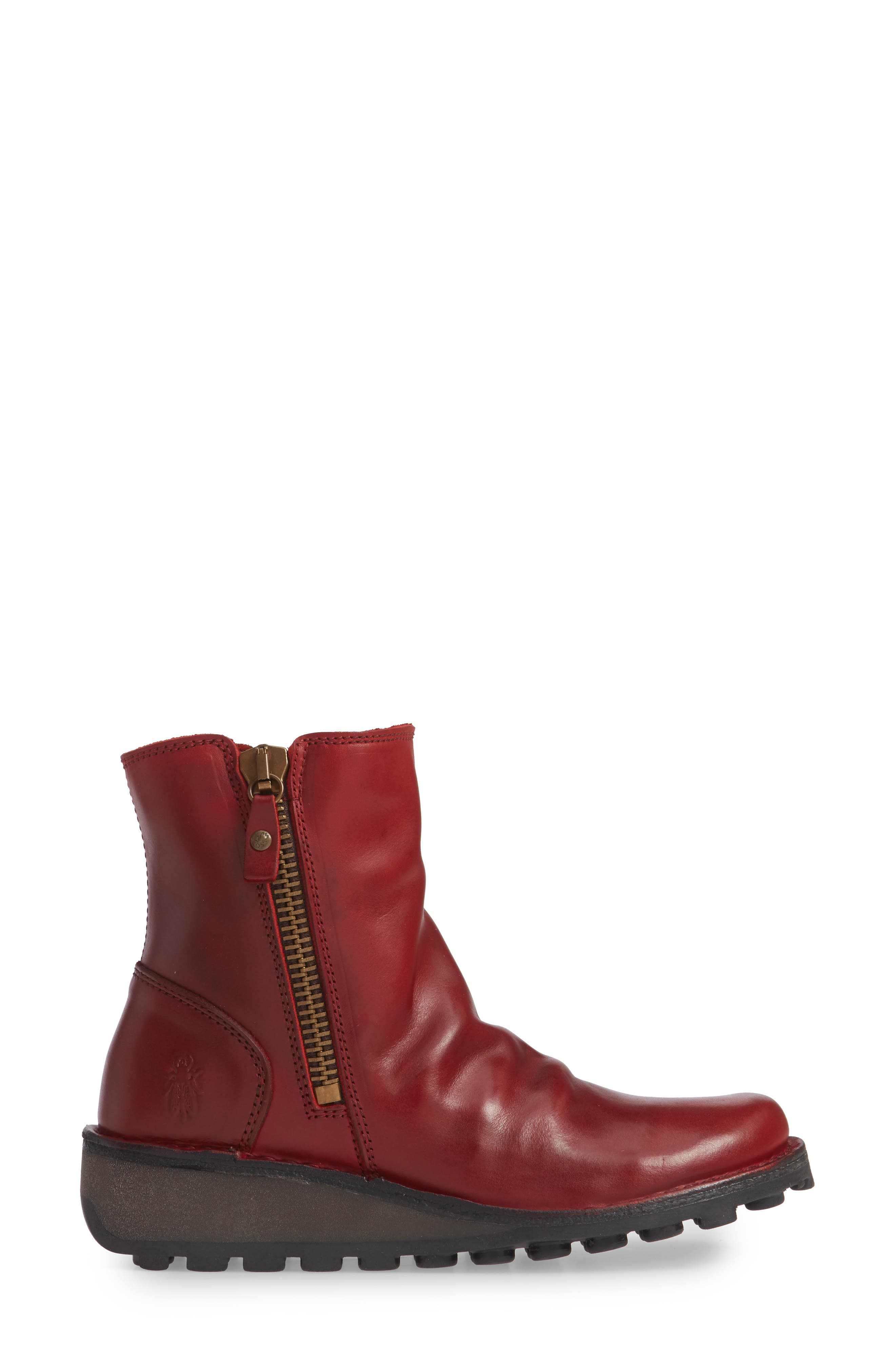 Mong Boot,                             Alternate thumbnail 3, color,                             RED