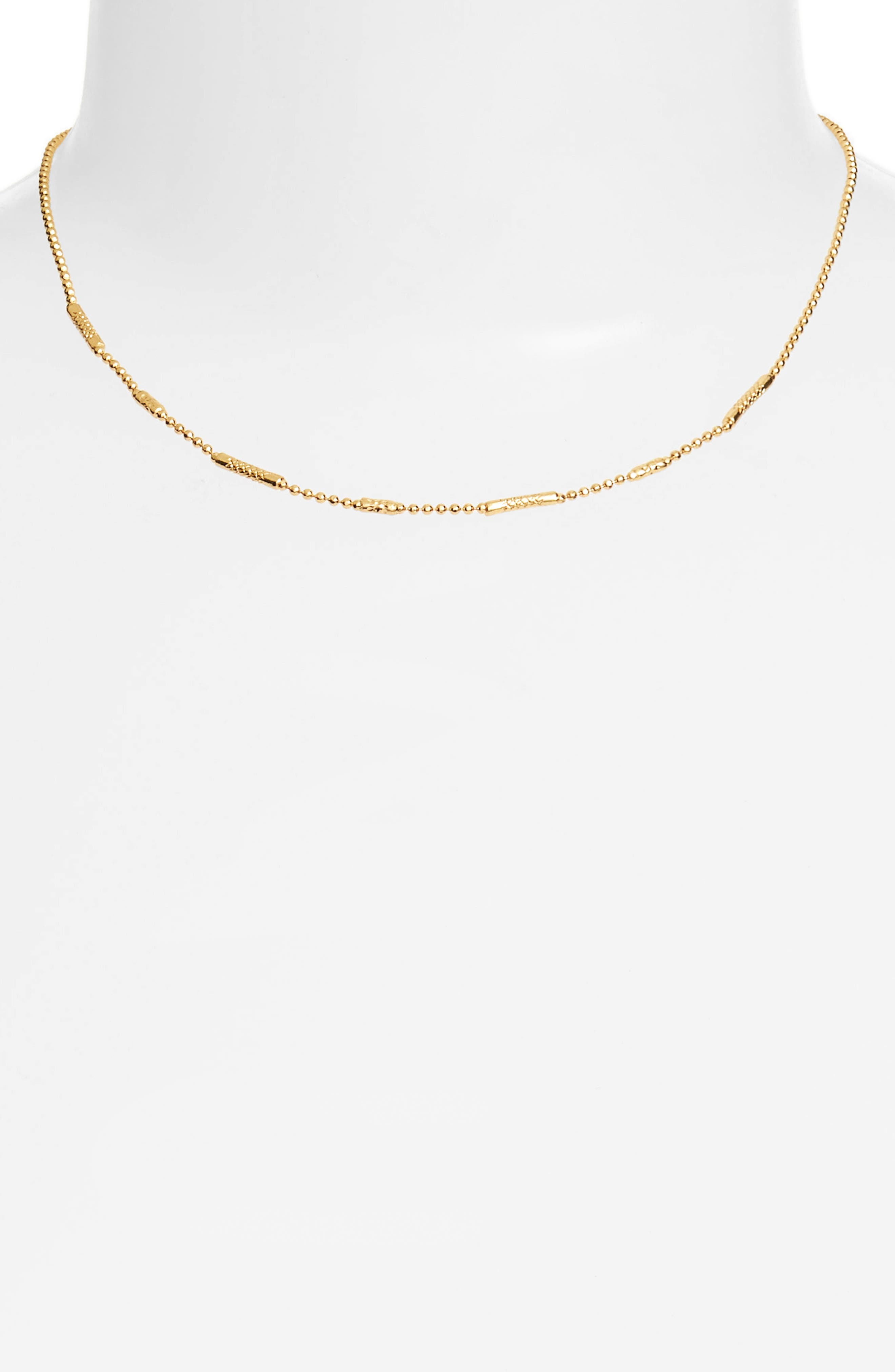 Ready to Mingle Necklace,                             Alternate thumbnail 2, color,                             GOLD