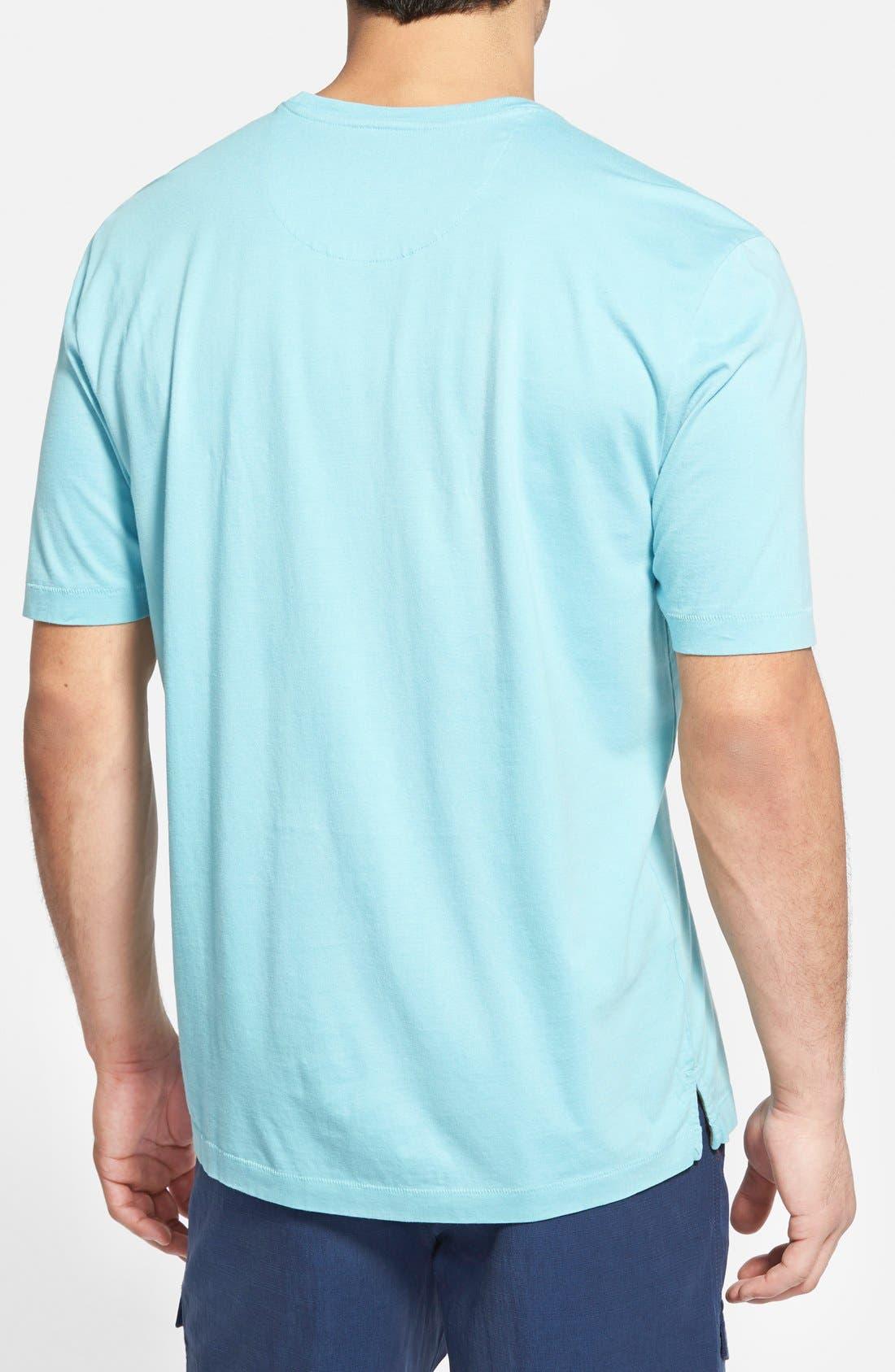 New Bali Sky Pima Cotton Pocket T-Shirt,                             Alternate thumbnail 70, color,