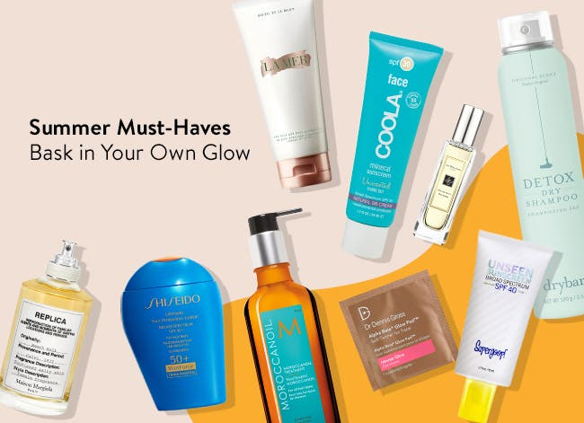 Summer must-haves: bask in your own glow.