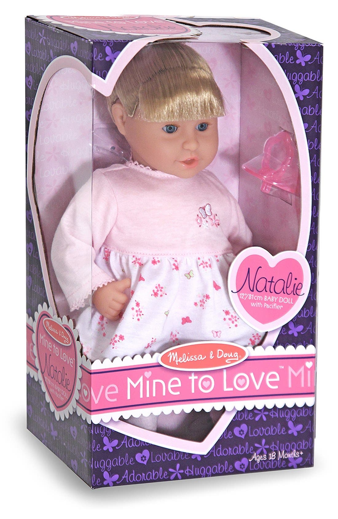 'Mine to Love - Natalie' Doll,                             Alternate thumbnail 2, color,                             PINK