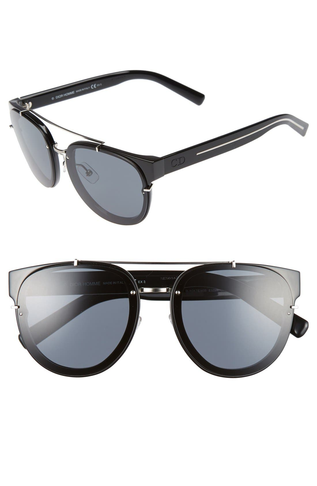 'Black Tie' 56mm Sunglasses,                             Main thumbnail 1, color,