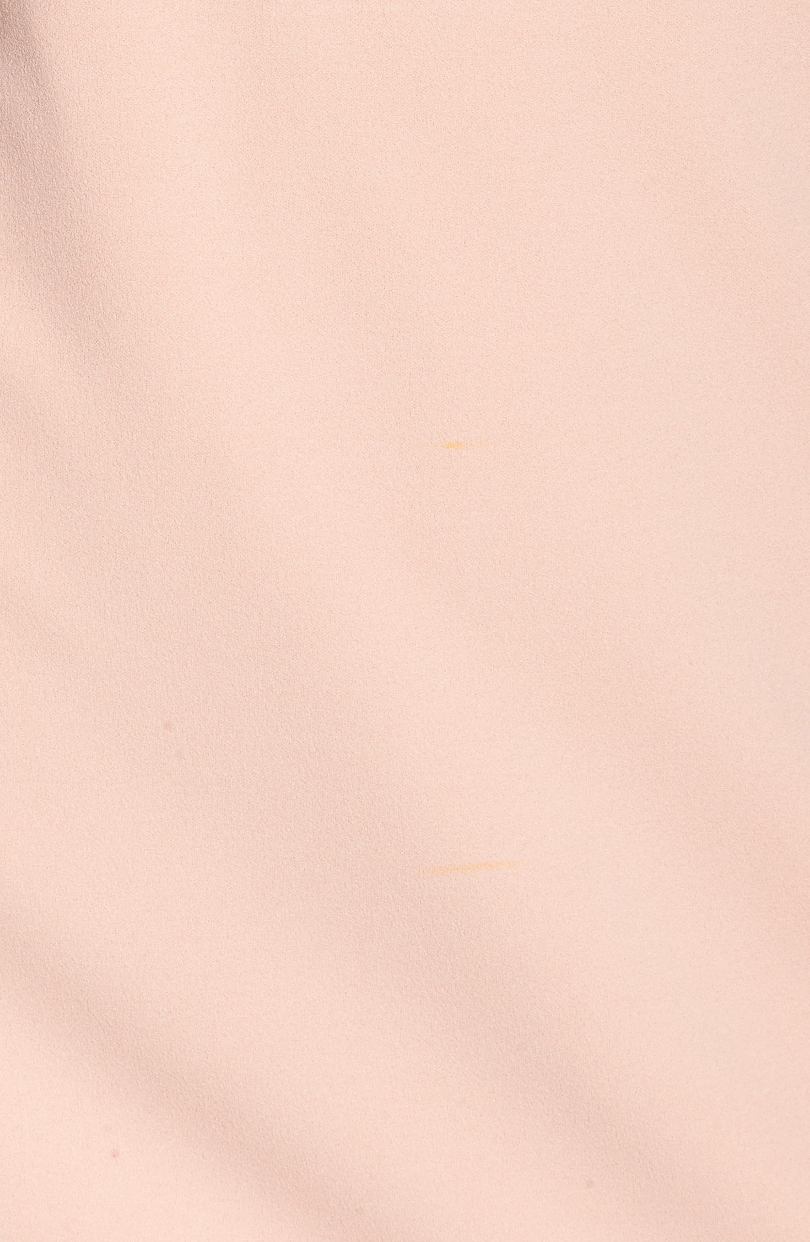 Ruffle One-Shoulder Shift Dress,                             Alternate thumbnail 5, color,                             650