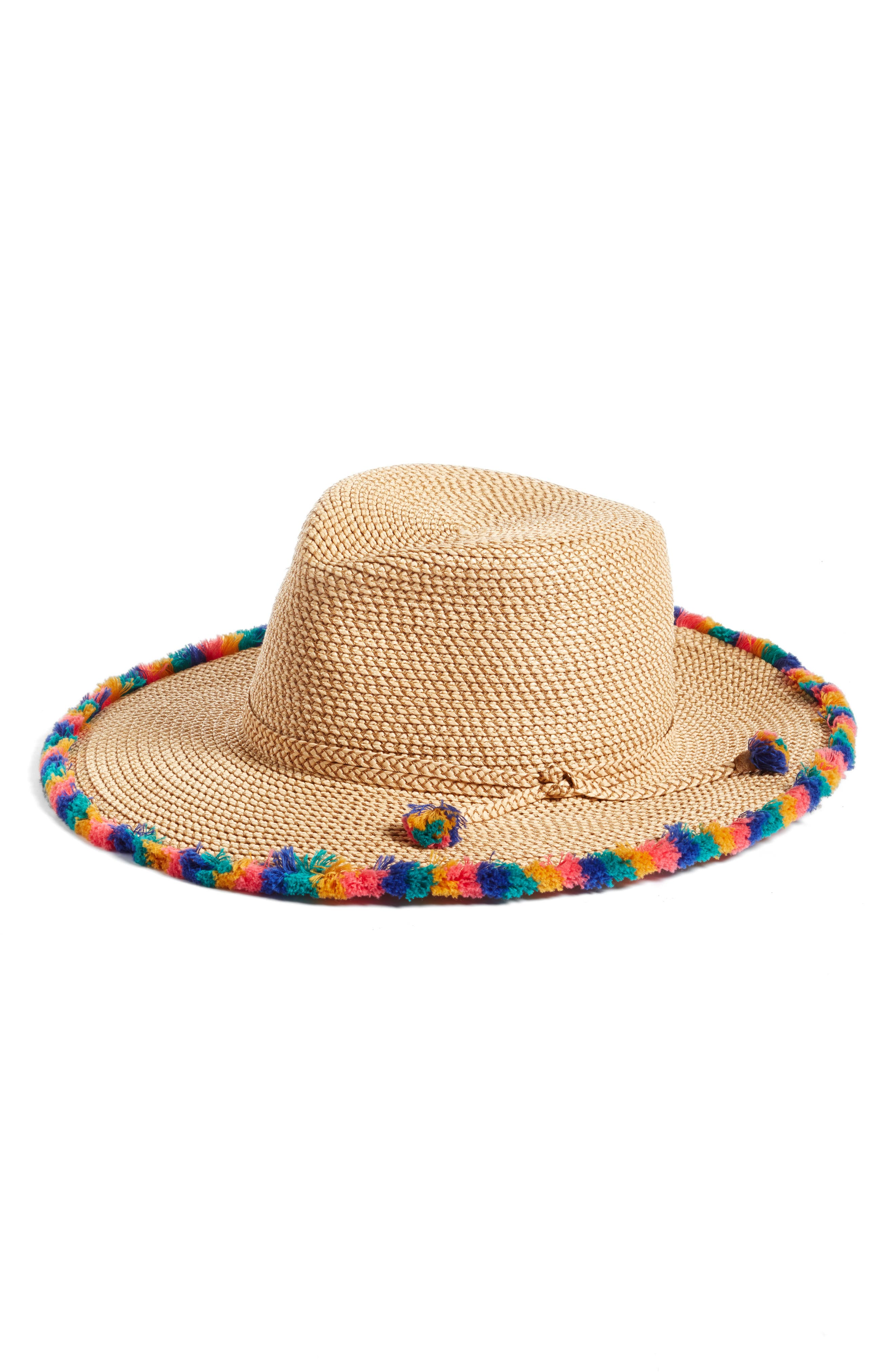 Frida Packable Squishee<sup>®</sup> Fedora,                             Main thumbnail 2, color,