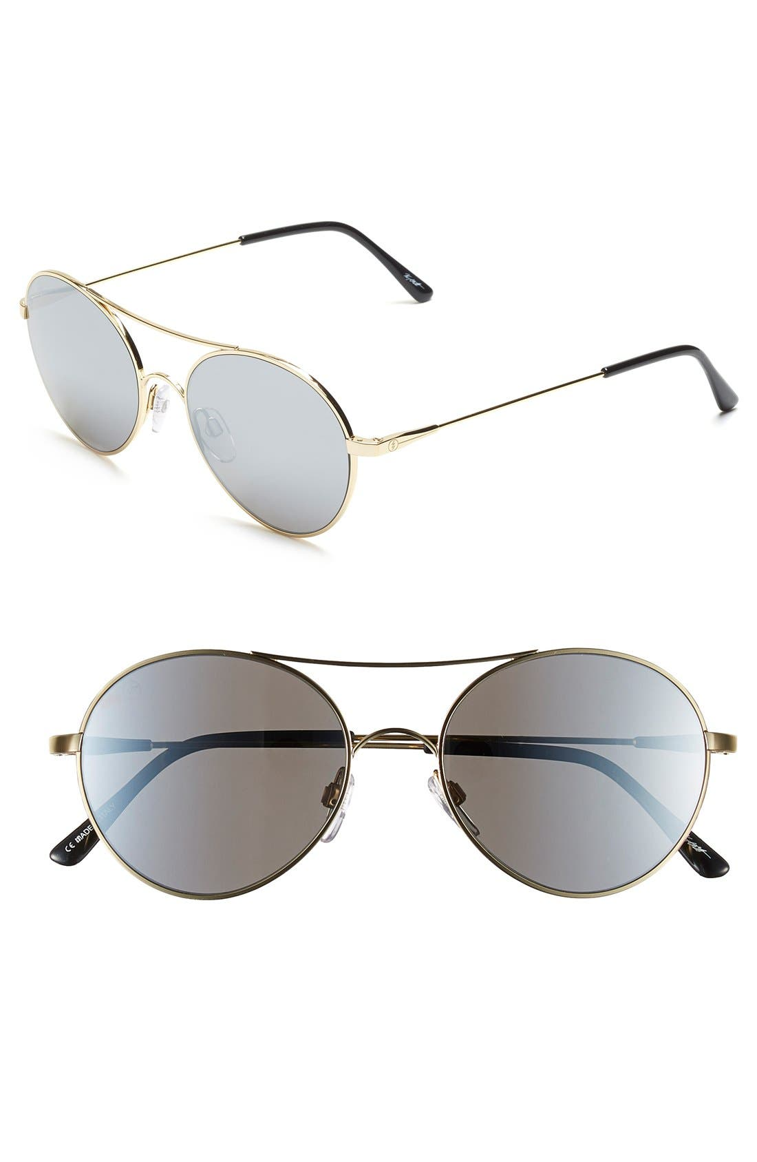 'Huxley' 53mm Round Sunglasses,                             Main thumbnail 2, color,