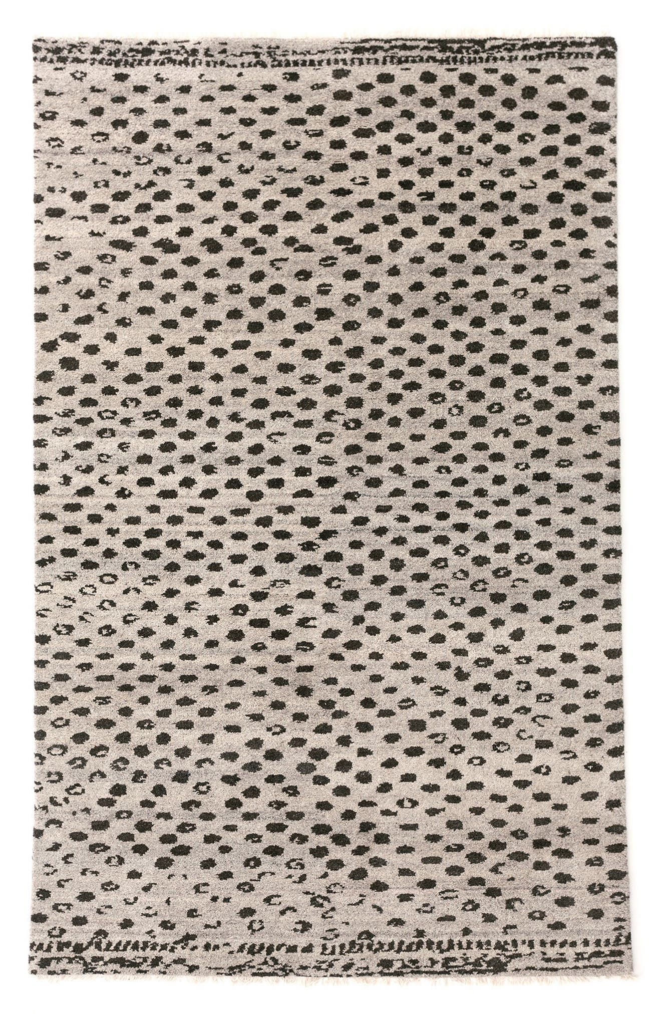 Hugo Rug,                             Main thumbnail 1, color,                             GREY