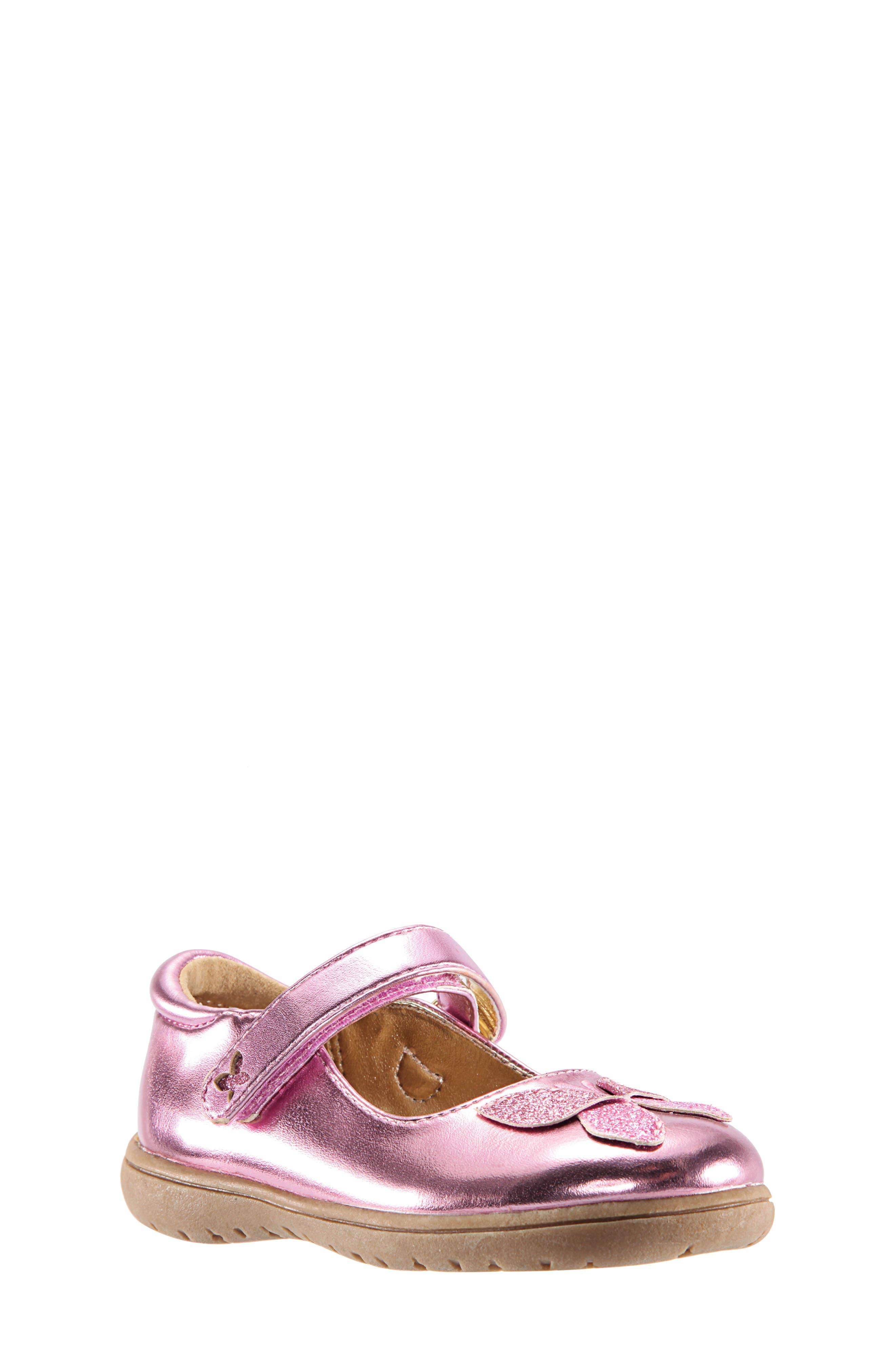 Alysha Glitter Mary Jane,                         Main,                         color, PINK/ SMOOTH GLITTER