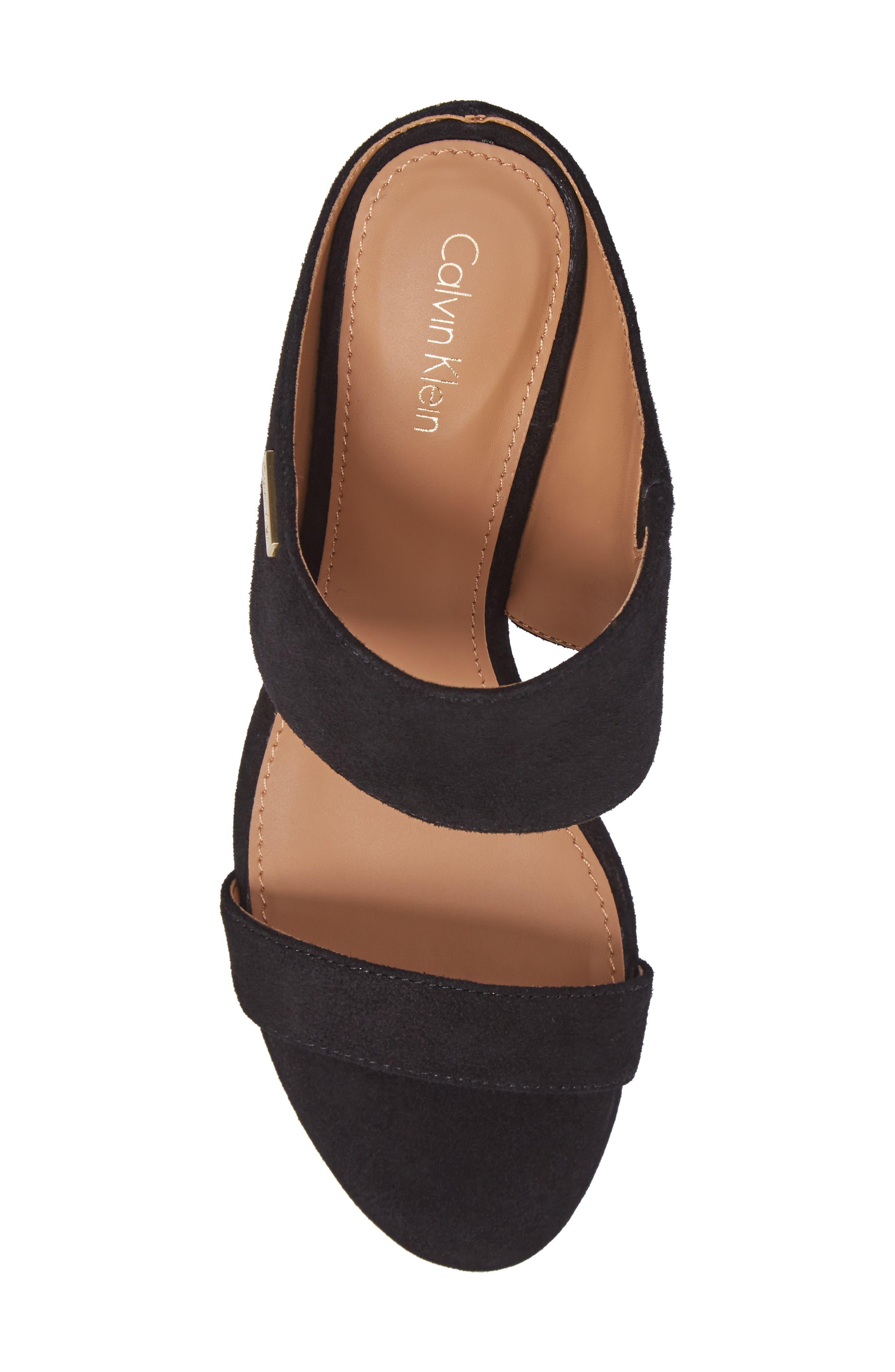 Phyllis Studded Wedge Sandal,                             Alternate thumbnail 17, color,