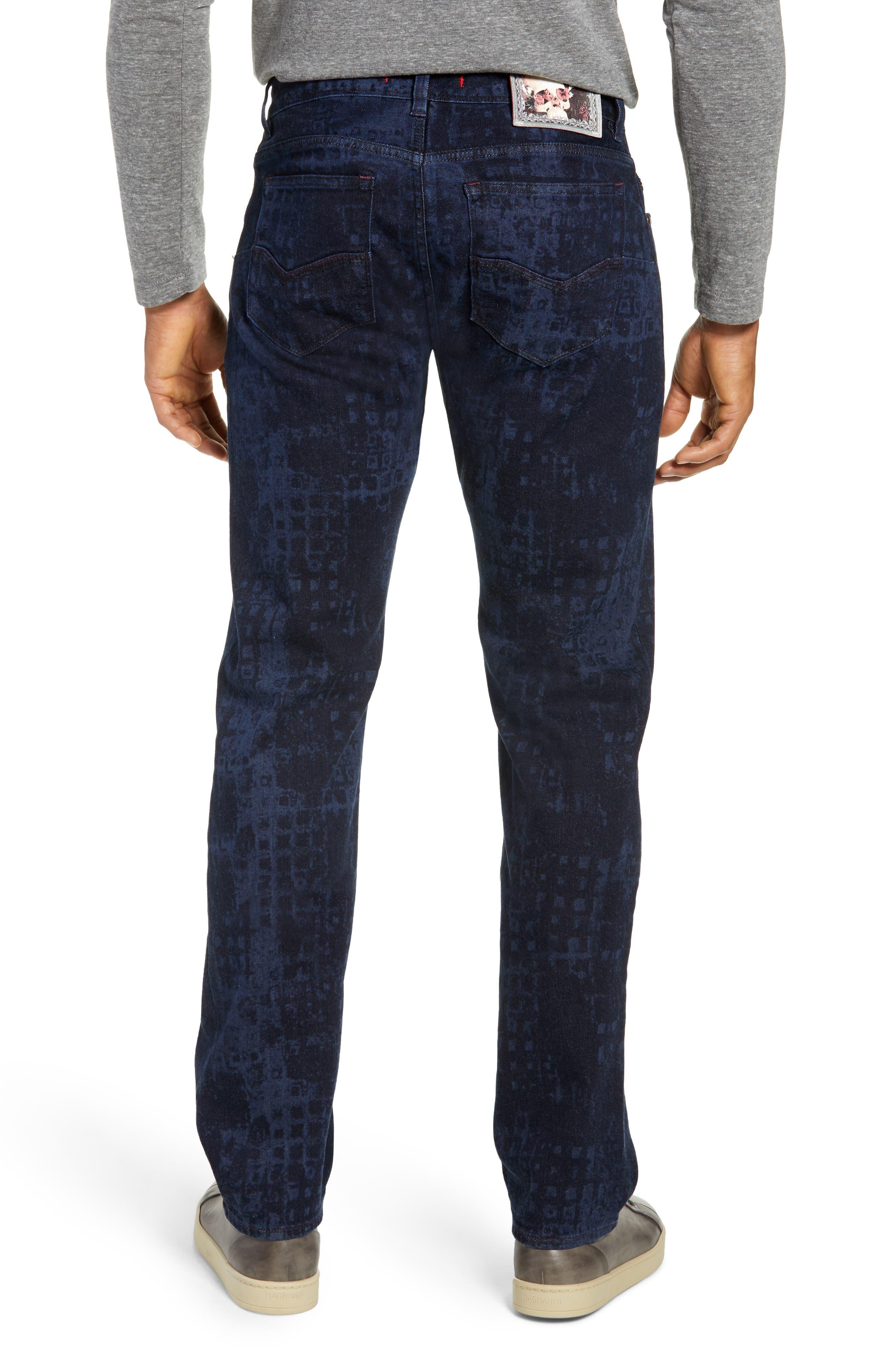 Chilcott Classic Fit Jeans,                             Alternate thumbnail 2, color,                             INDIGO