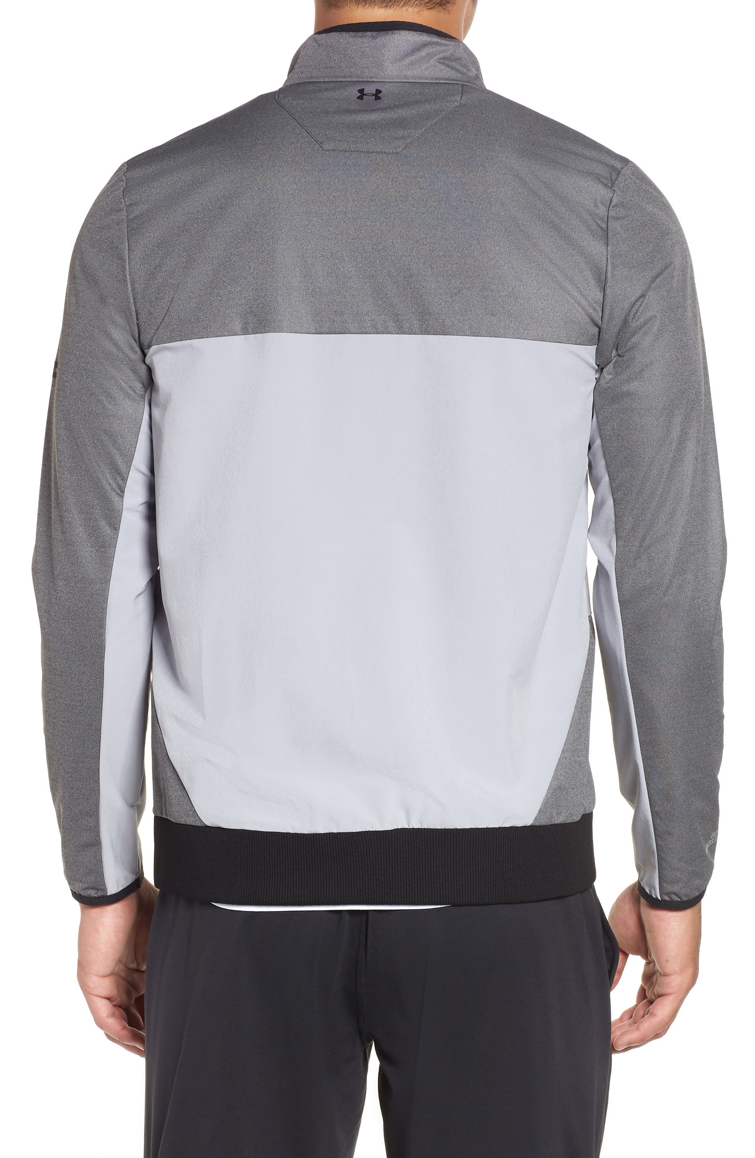 Gore<sup>®</sup> Windstopper<sup>®</sup> Full Zip Jacket,                             Alternate thumbnail 2, color,                             CHARCOAL / OVERCAST