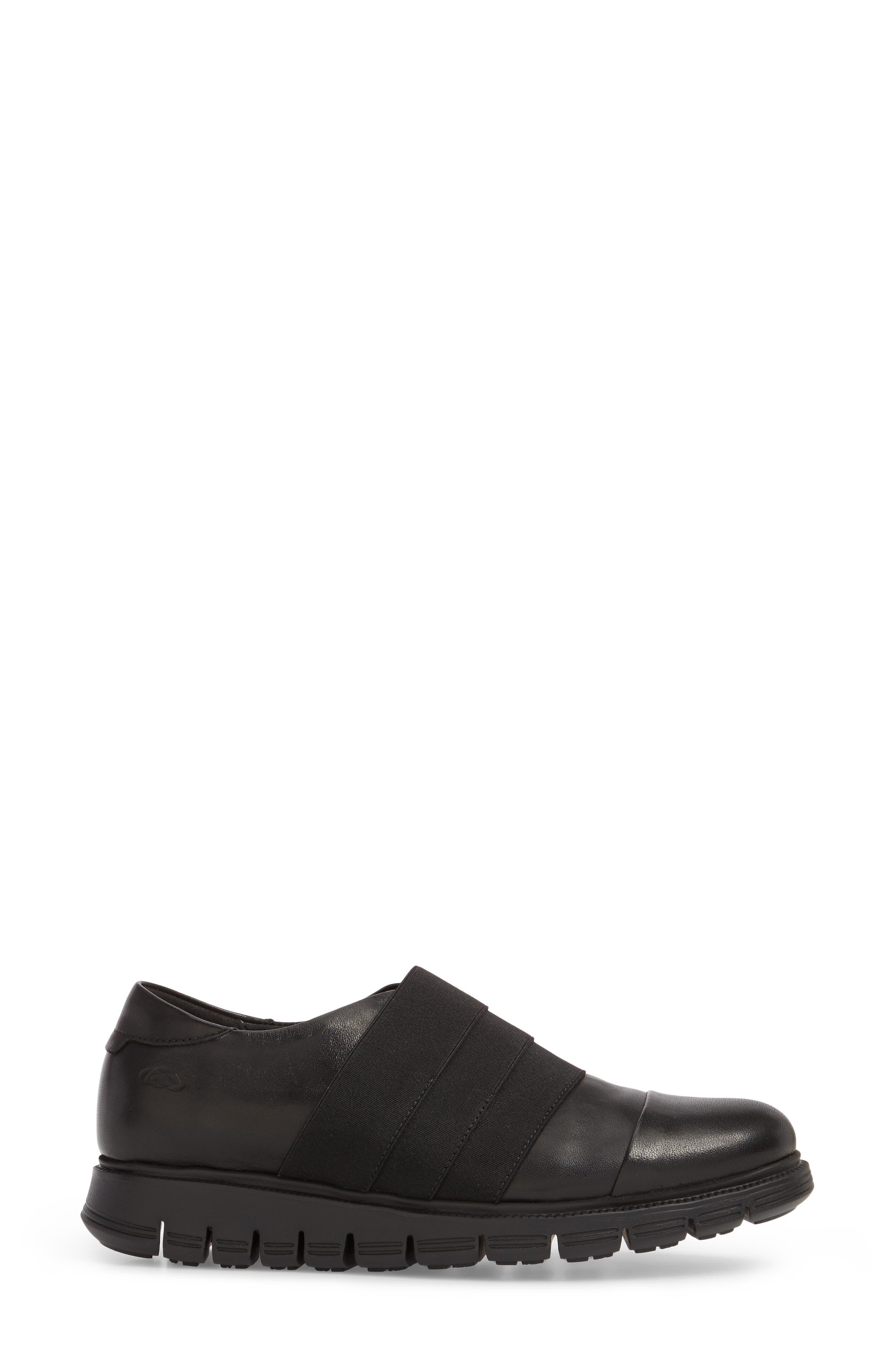 Grace Slip-On Sneaker,                             Alternate thumbnail 3, color,                             001