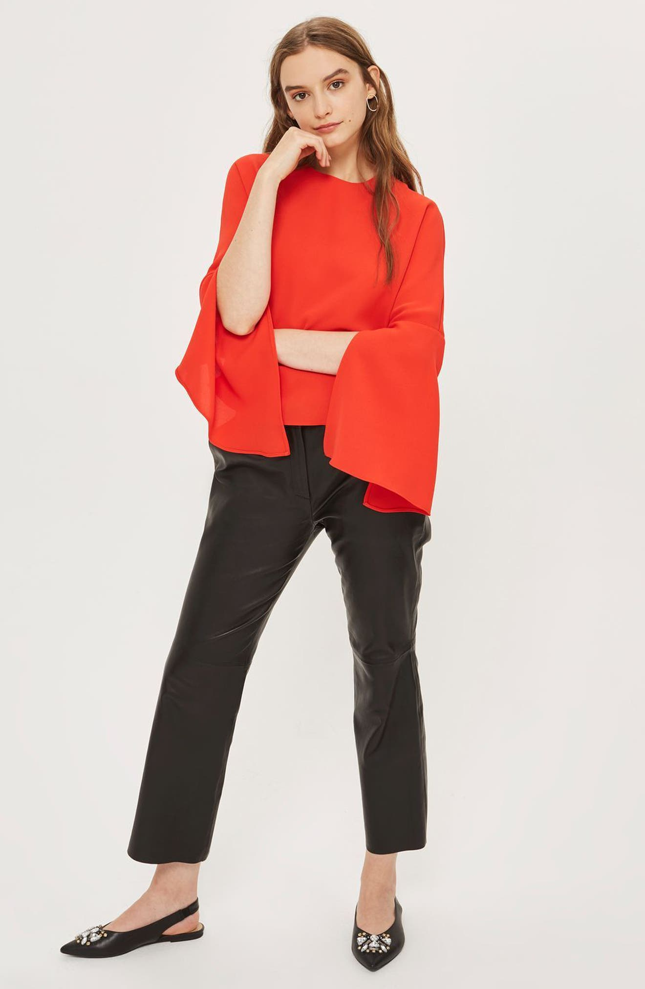 Split Sleeve Top,                             Alternate thumbnail 12, color,