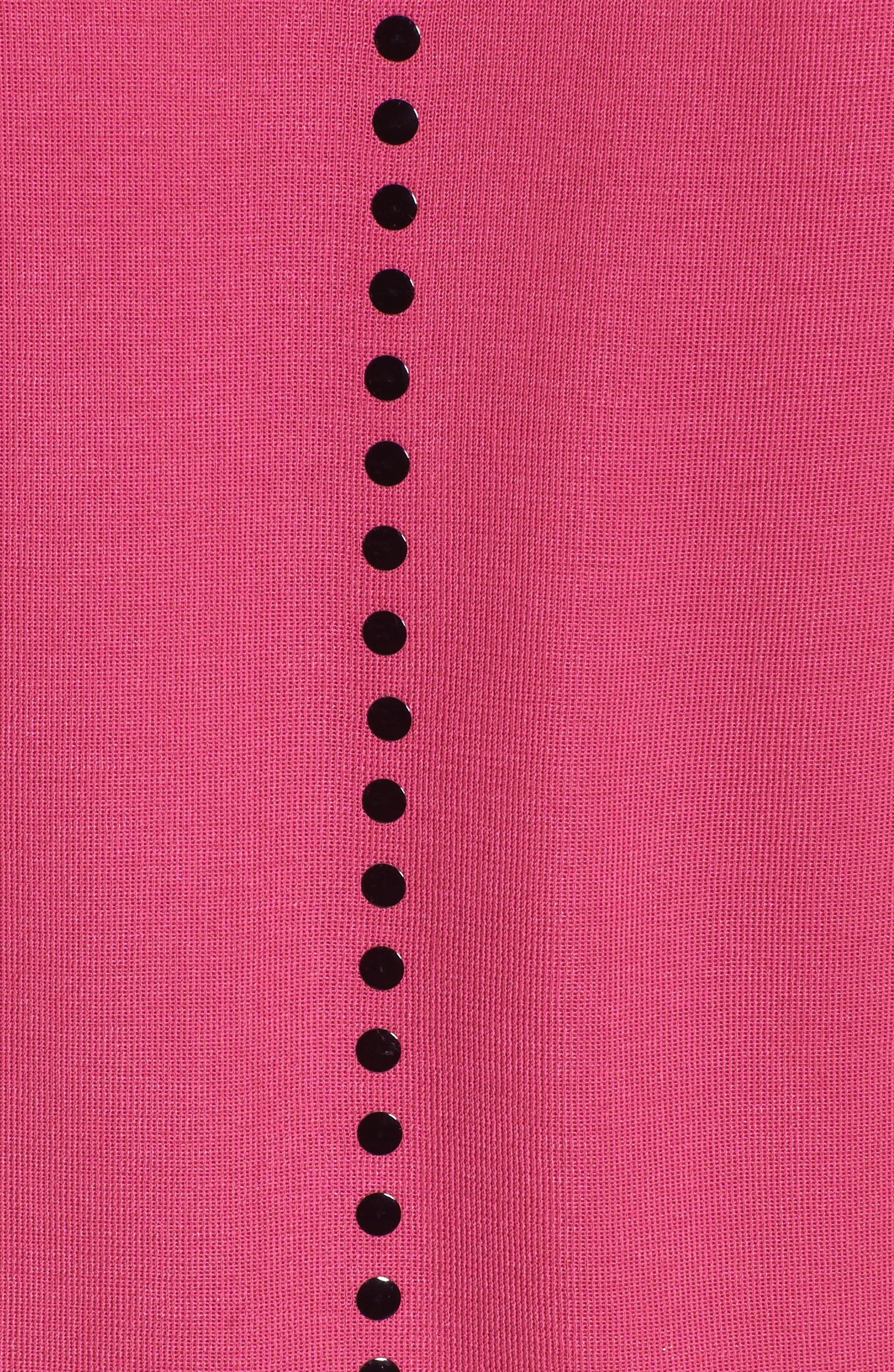 Studded Sweater Dress,                             Alternate thumbnail 5, color,                             643