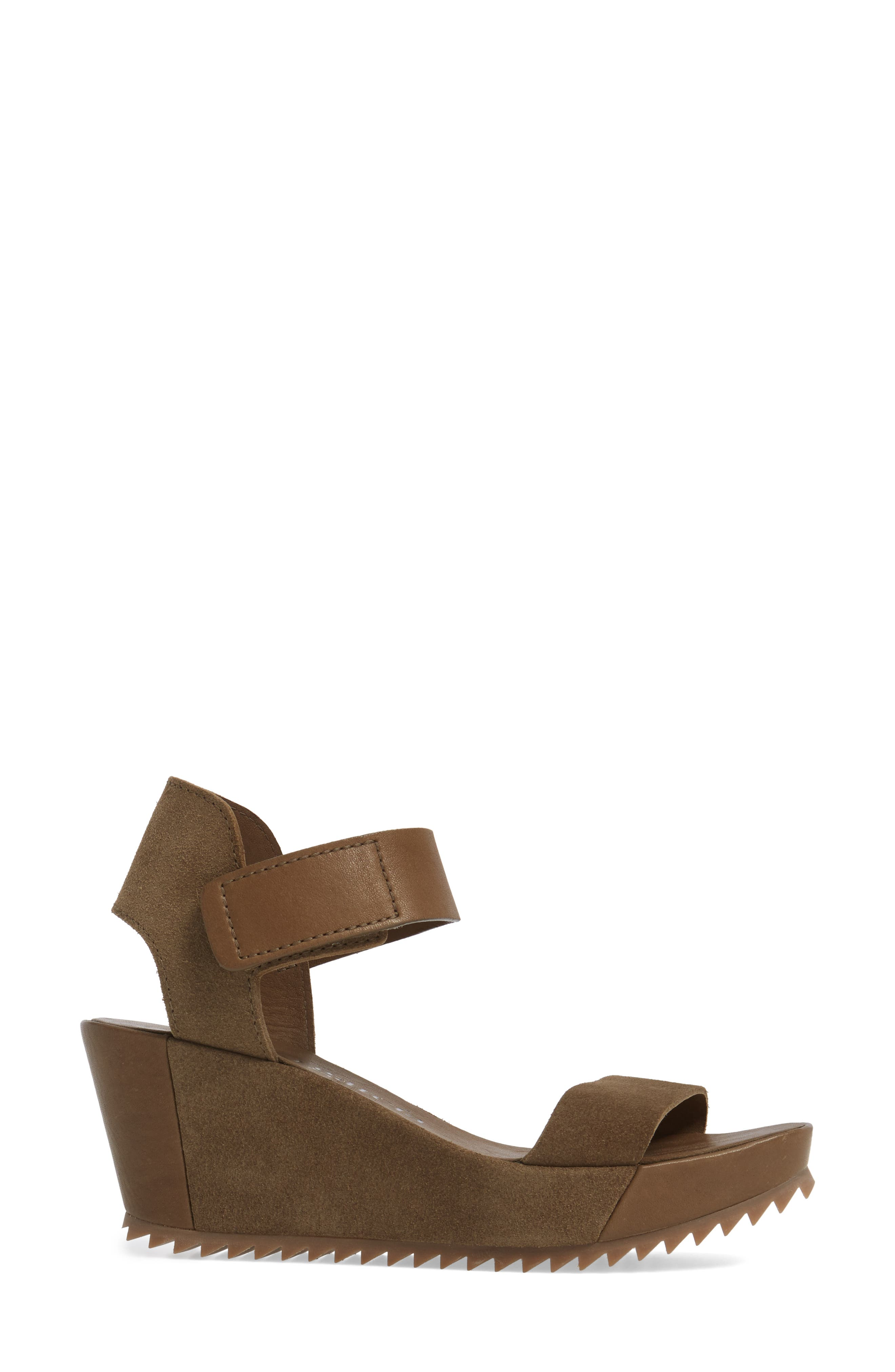 Francesca Wedge Sandal,                             Alternate thumbnail 3, color,                             250