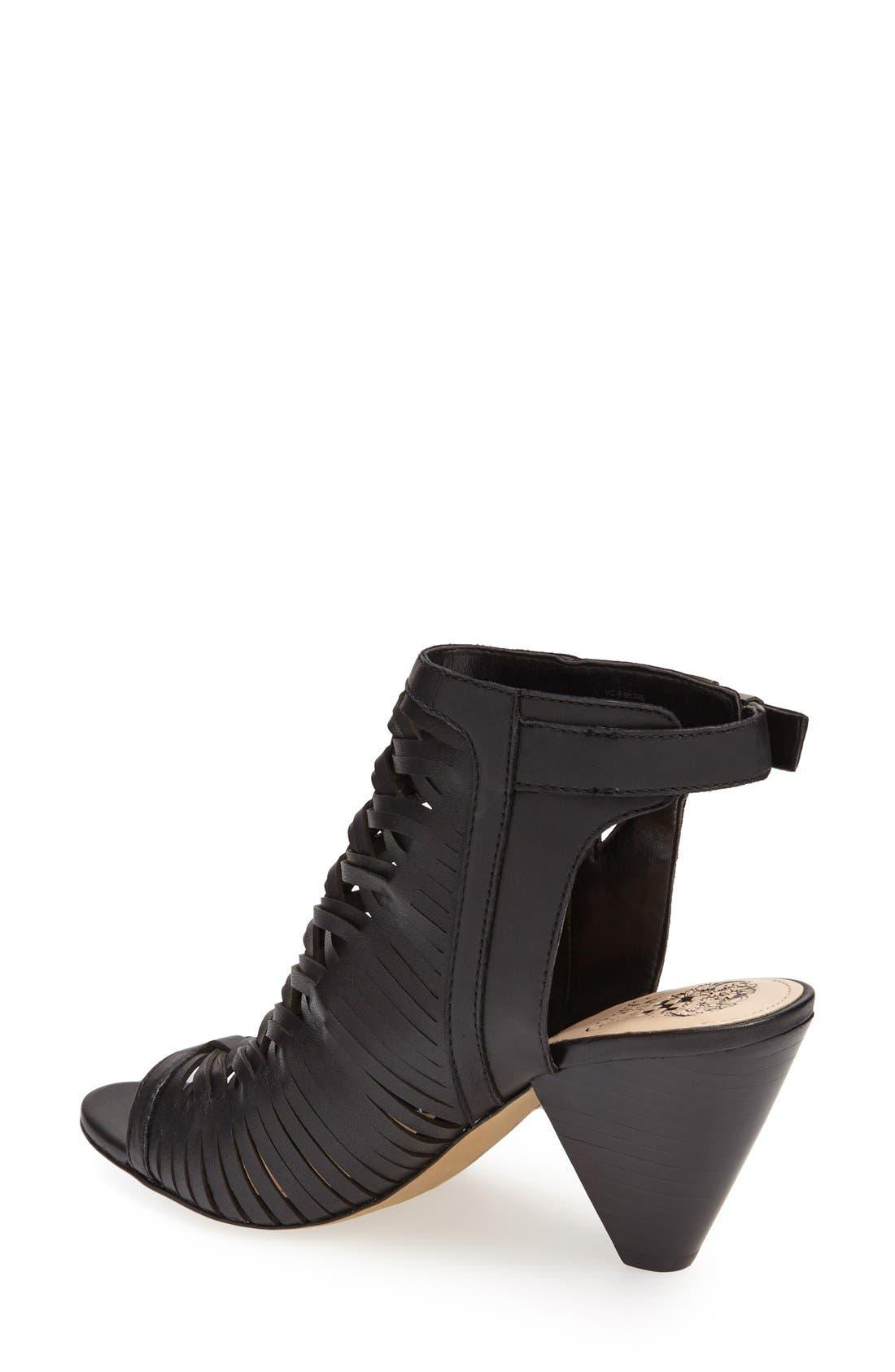 'Emore' Leather Sandal,                             Alternate thumbnail 2, color,                             001