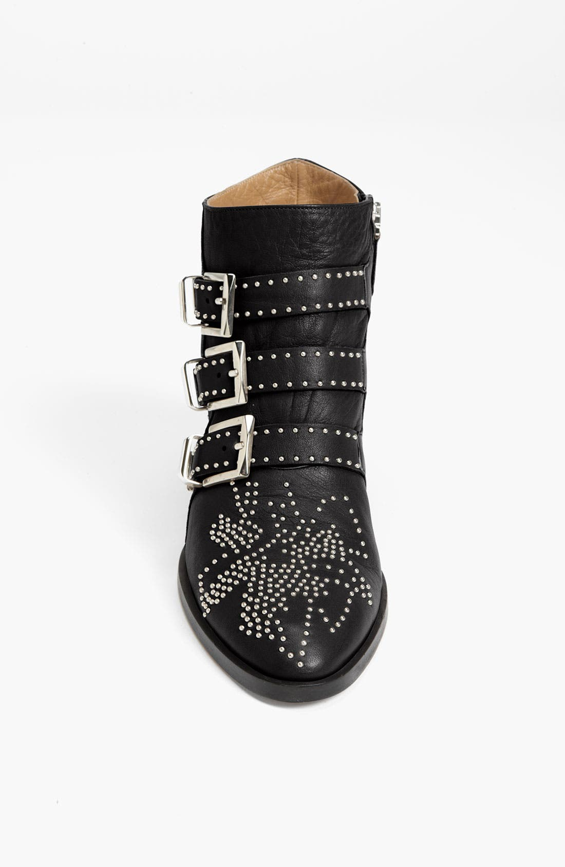 'Suzanna' Stud Buckle Bootie,                             Alternate thumbnail 2, color,                             001