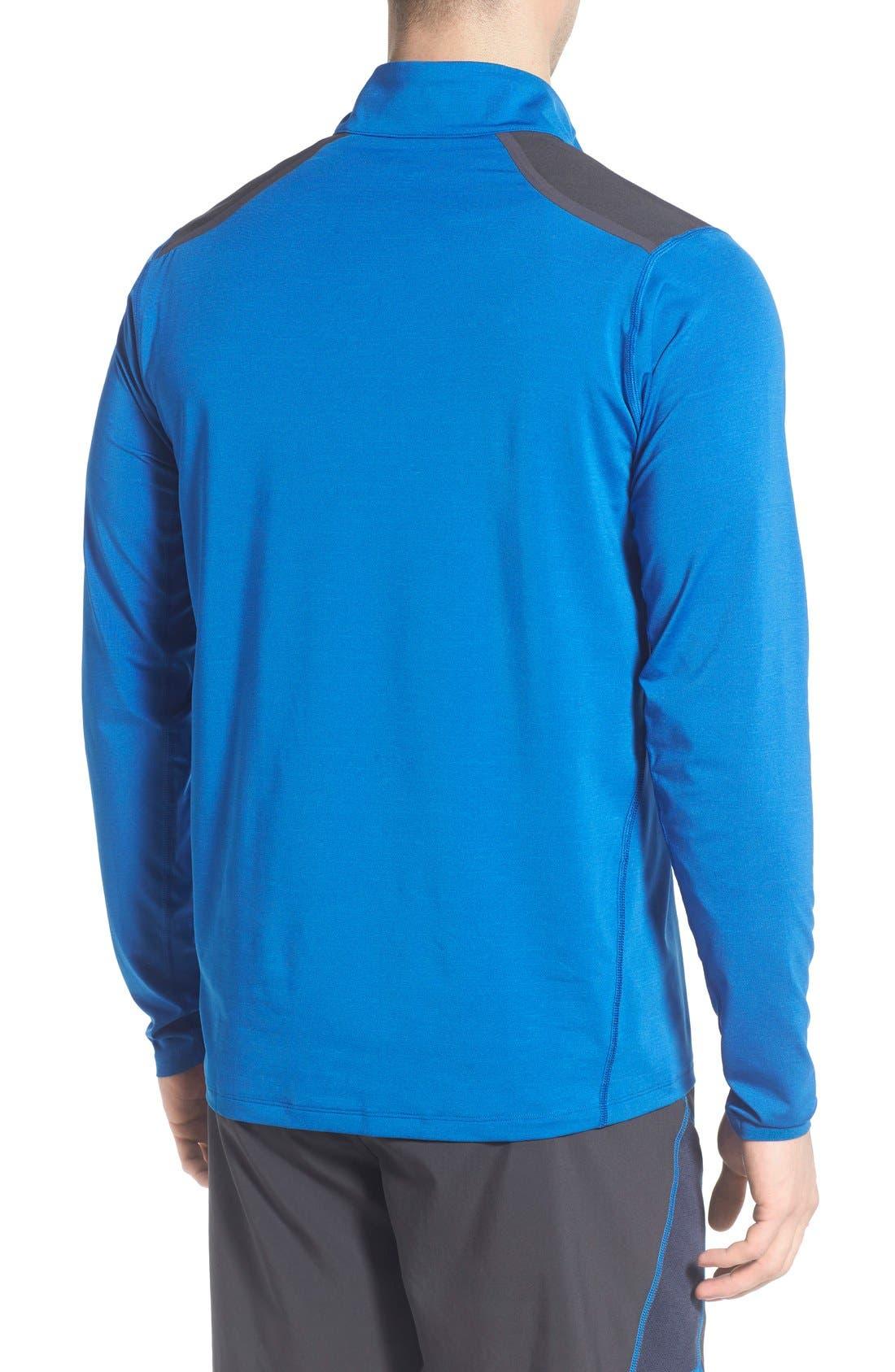 'Kilowatt' Quarter Zip Training Pullover,                             Alternate thumbnail 8, color,