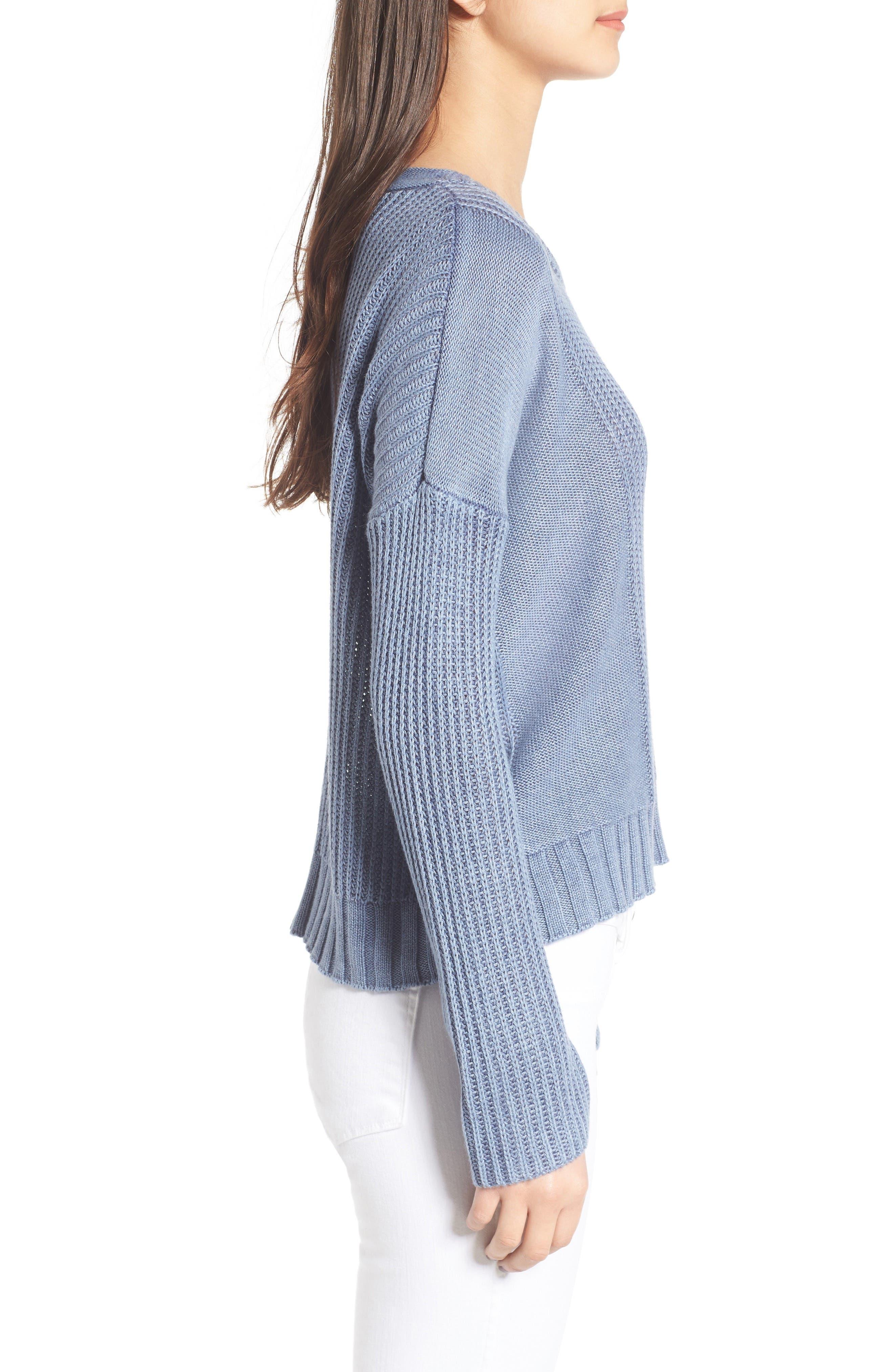 Elsa Sweater,                             Alternate thumbnail 3, color,                             490