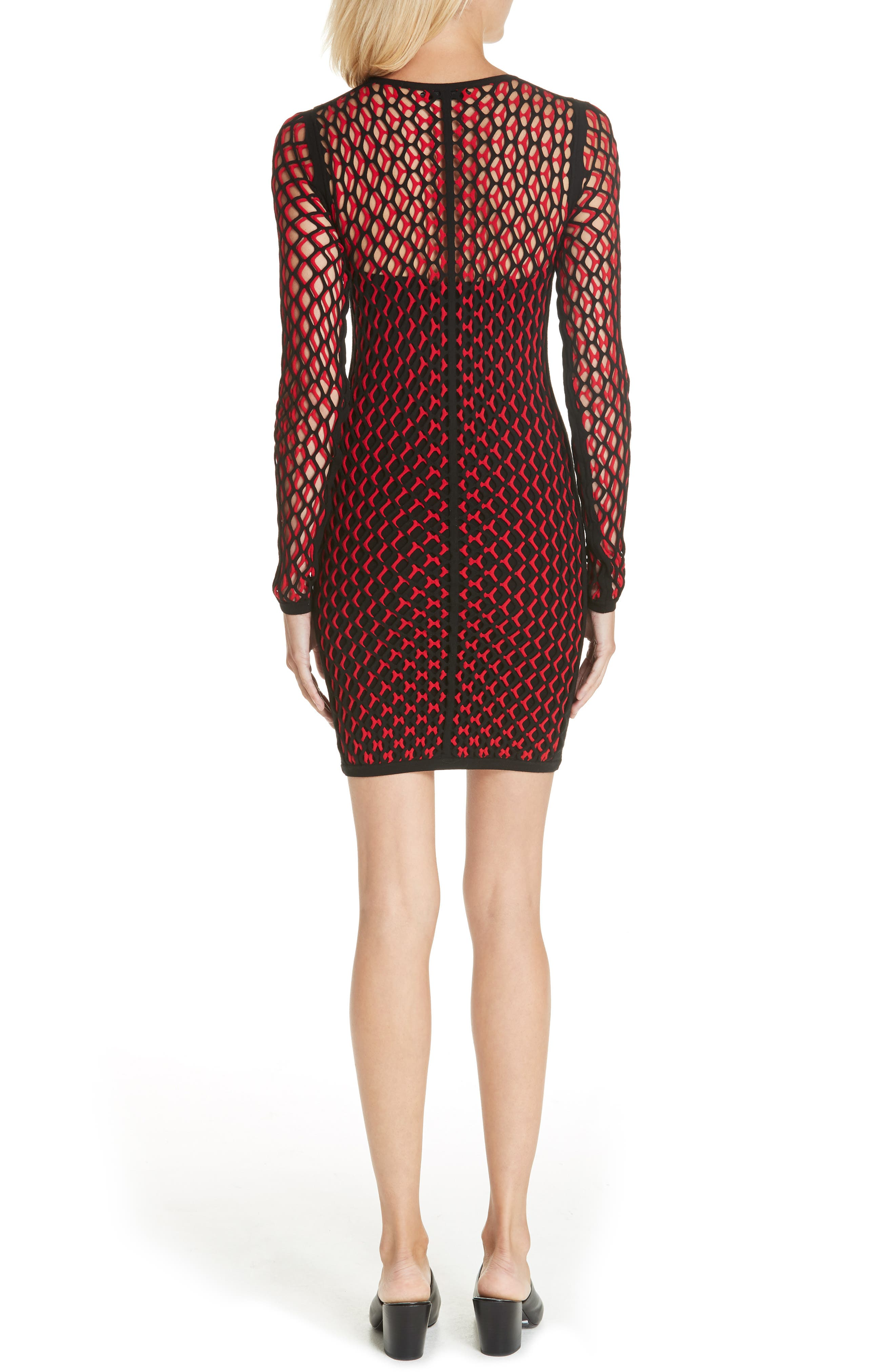 Wes Layered Body-Con Dress,                             Alternate thumbnail 2, color,                             627
