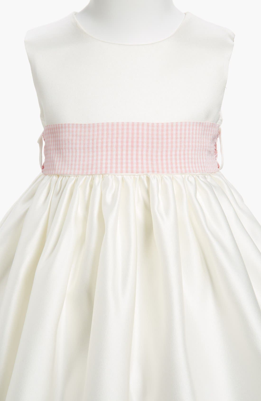 Gingham Sash,                             Alternate thumbnail 2, color,                             PINK GINGHAM