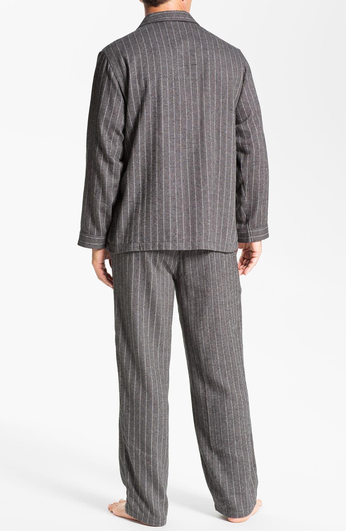 '824' Flannel Pajama Set,                             Alternate thumbnail 71, color,