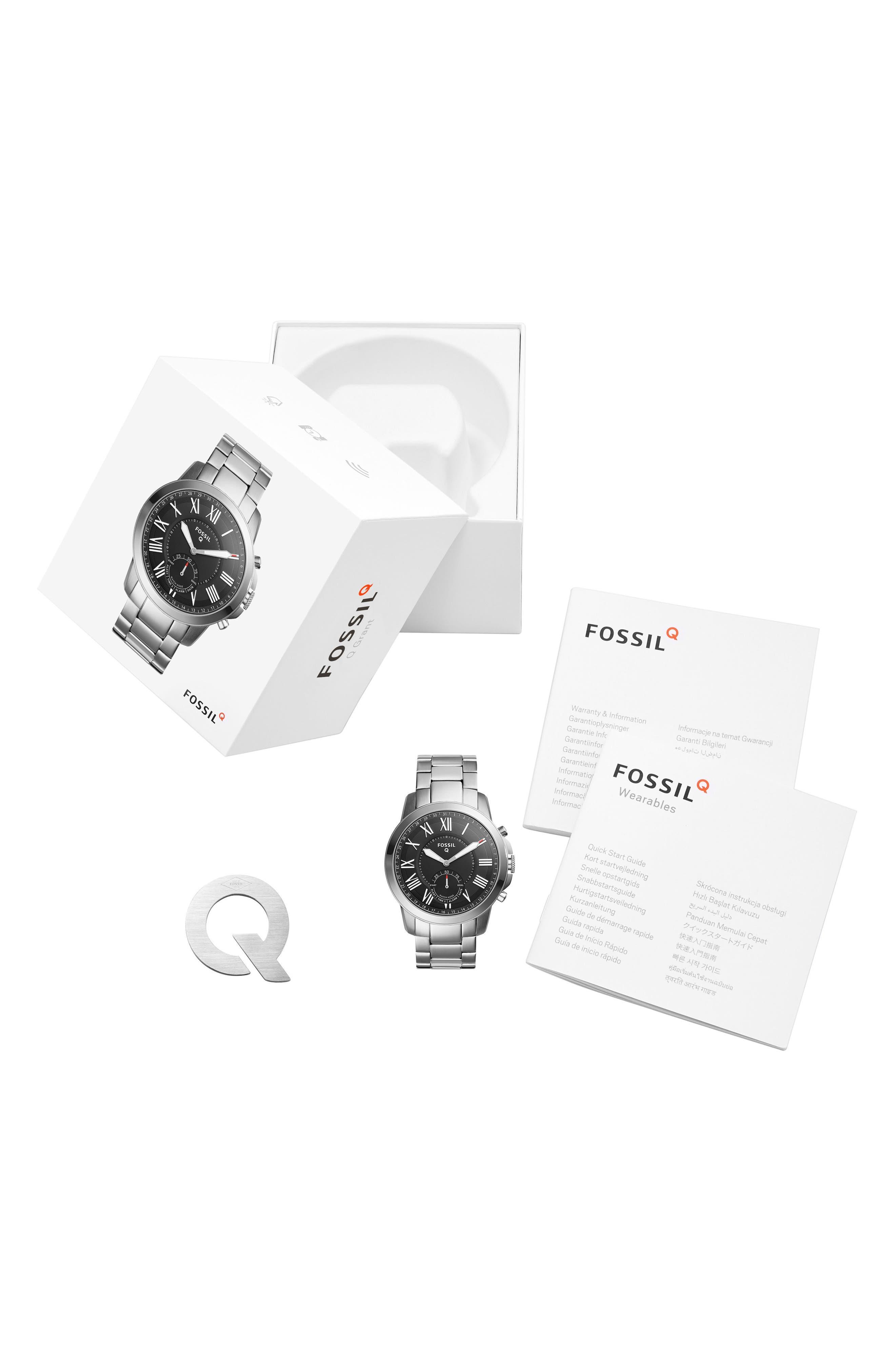 Grant Bracelet Smart Watch, 44mm,                             Alternate thumbnail 3, color,                             040