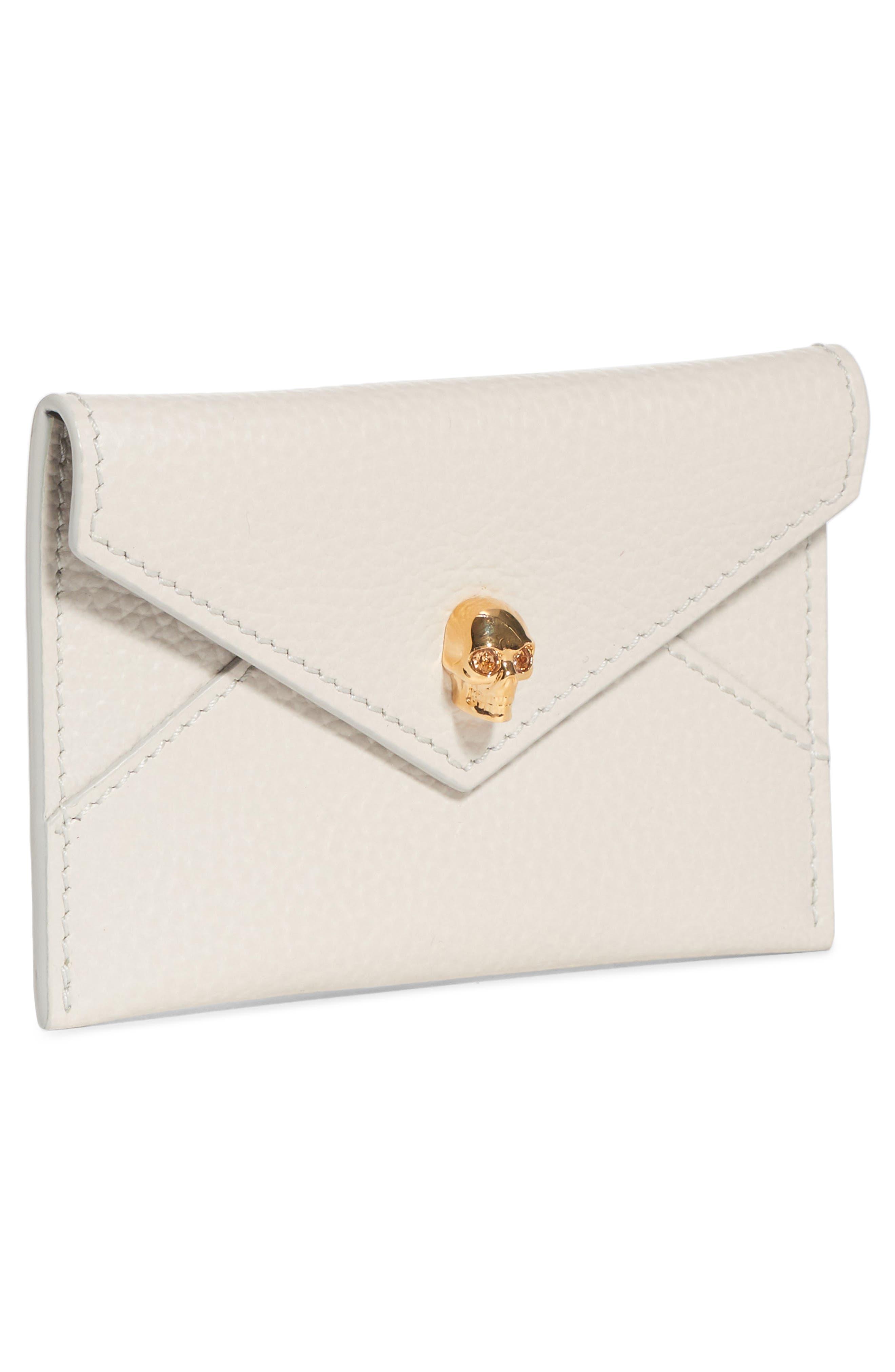 Envelope Card Holder,                             Alternate thumbnail 3, color,                             OFF WHITE