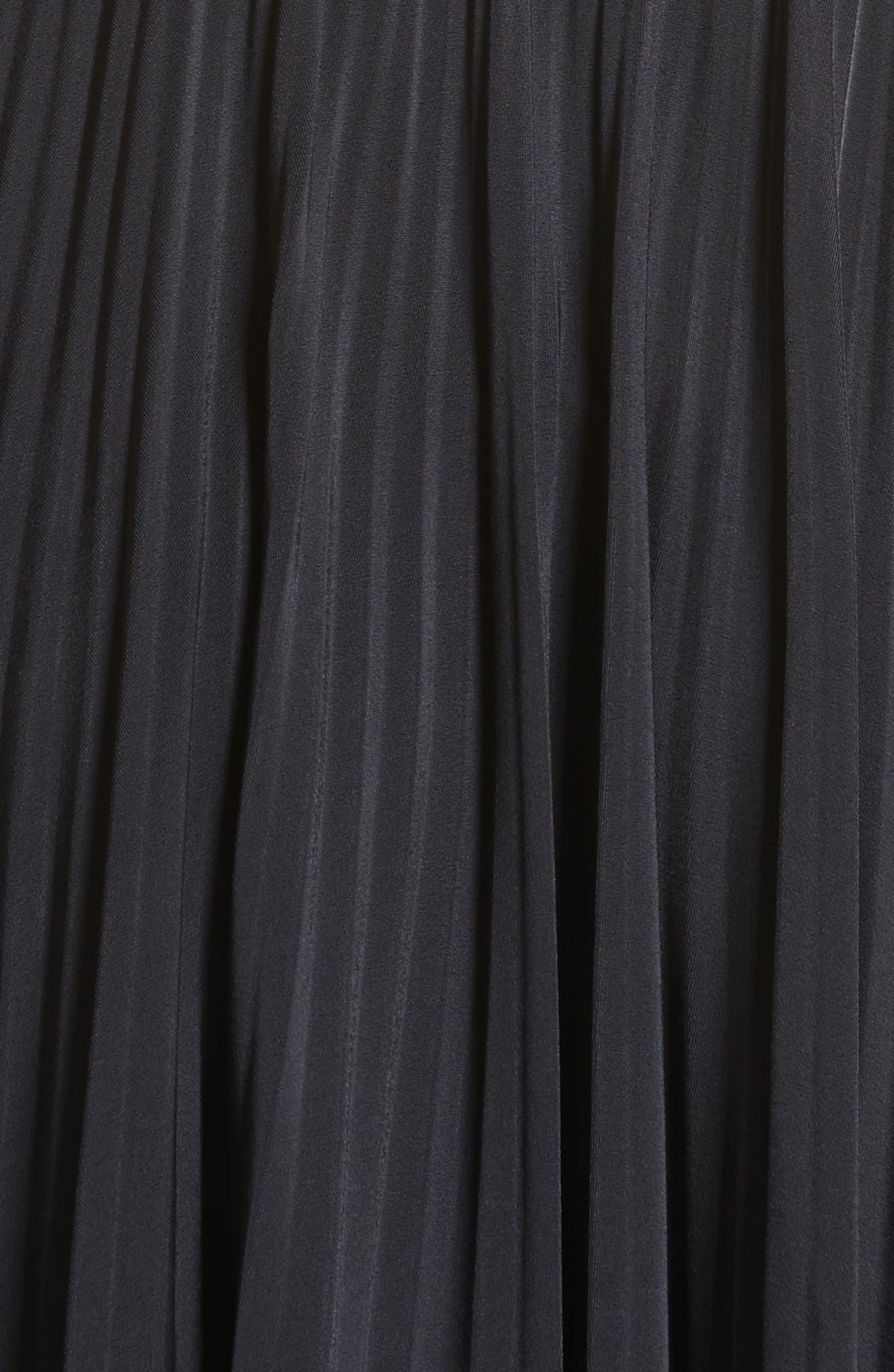 Sport Jersey Midi Dress,                             Alternate thumbnail 5, color,